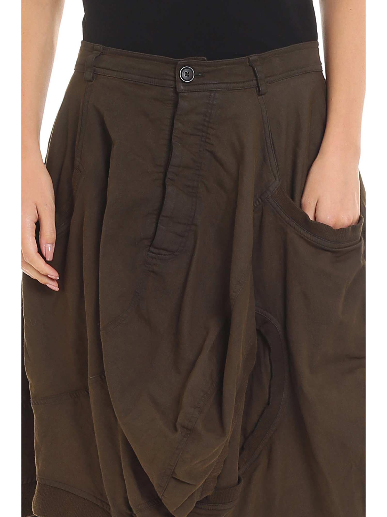 551525198 Rundholz - Green Knee-length Skirt - Lyst. View fullscreen
