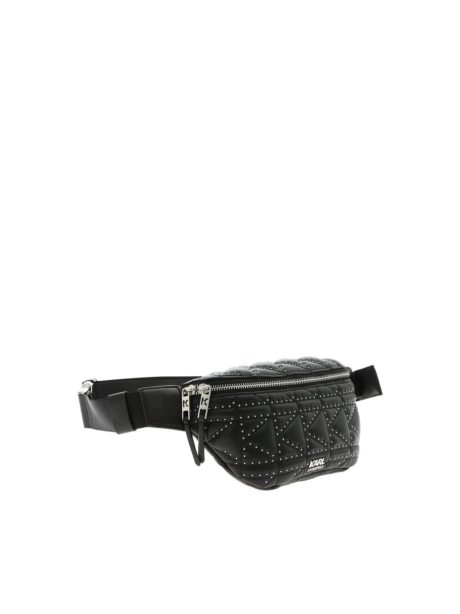 dbb8bee49f karl-lagerfeld-black-K-Kuilted-Fanny-Pack-Black.jpeg