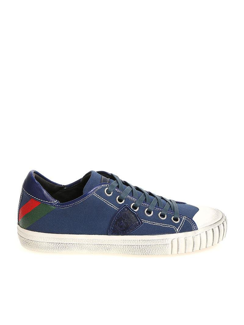Blue Gare L sneakers Philippe Model Discount Footlocker Finishline Cheap New Discount Big Sale Visa Payment Online ihMDx