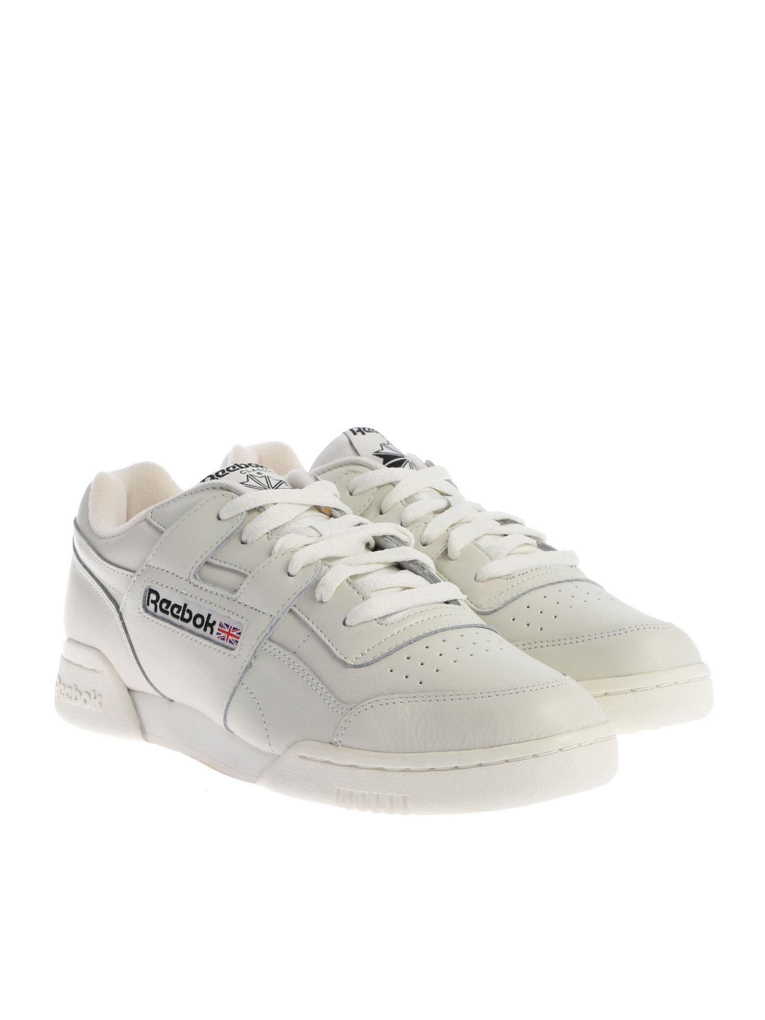 Lyst - Reebok Cream-colored