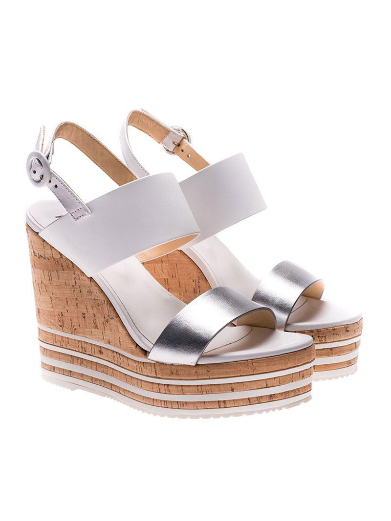 Hogan H361 Wedged Sandals Fashionable Discount Newest Cheap Latest Collections Discount Hot Sale AkQEDhBQ62