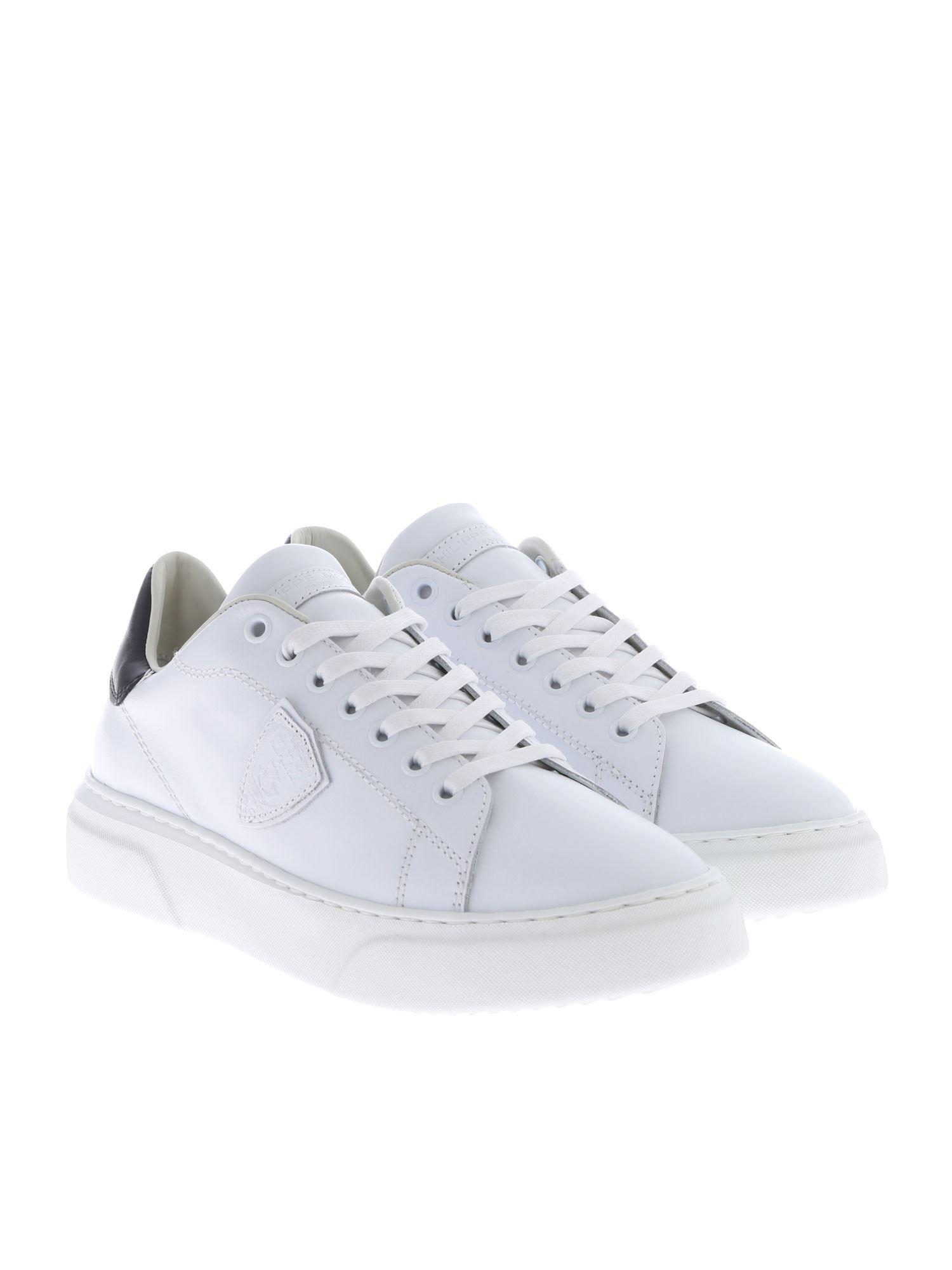 7c4ee2e42d22 Philippe Model - Temple Femme L Sneakers In White - Lyst. View fullscreen