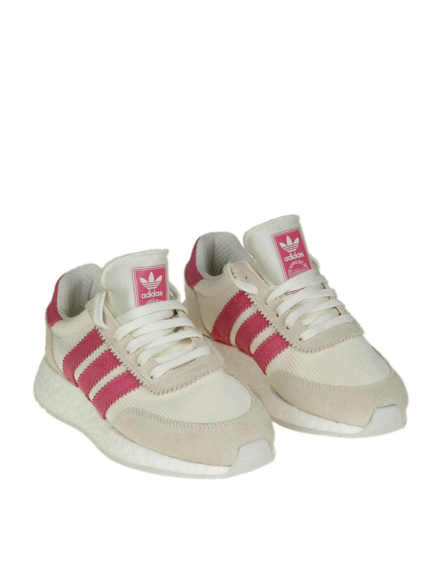 huge discount 9d175 bdd92 Lyst - adidas Originals White And Pink