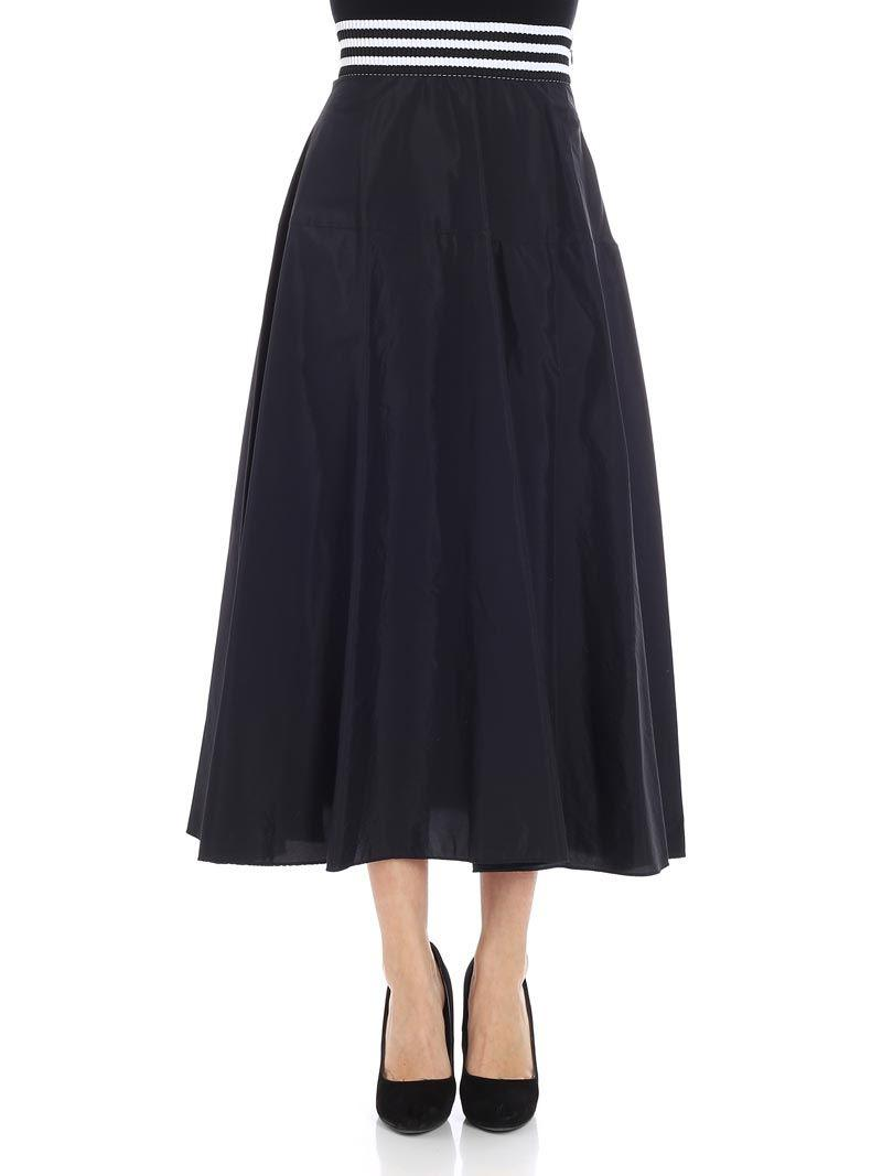 High Quality Best Prices Cheap Price Black pleated skirt Federica Tosi Comfortable Online Outlet Release Dates biAv8tj