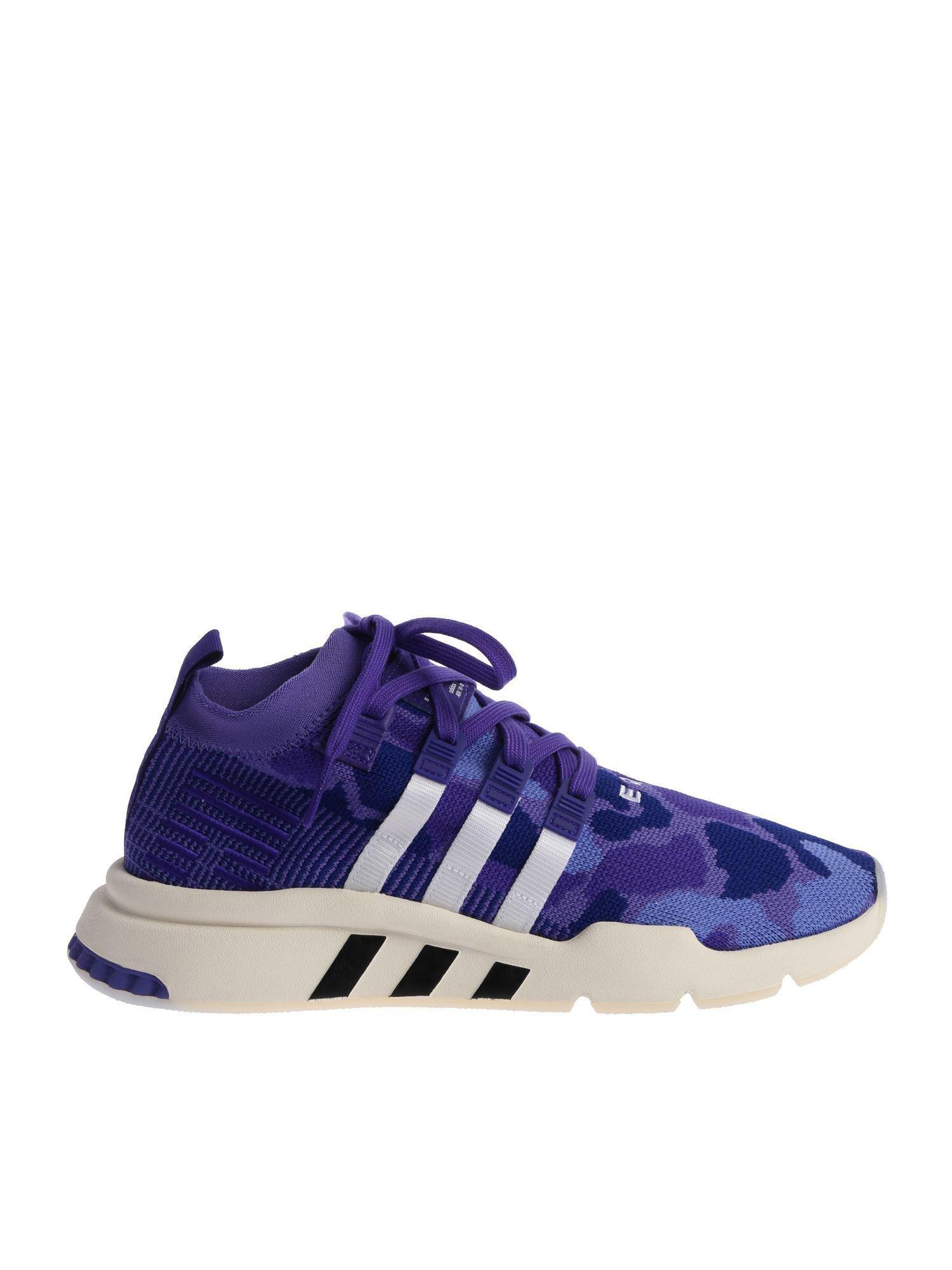 new products 89692 af16e ... clearance adidas originals. mens purple eqt support mid adv 30e0f 999d8