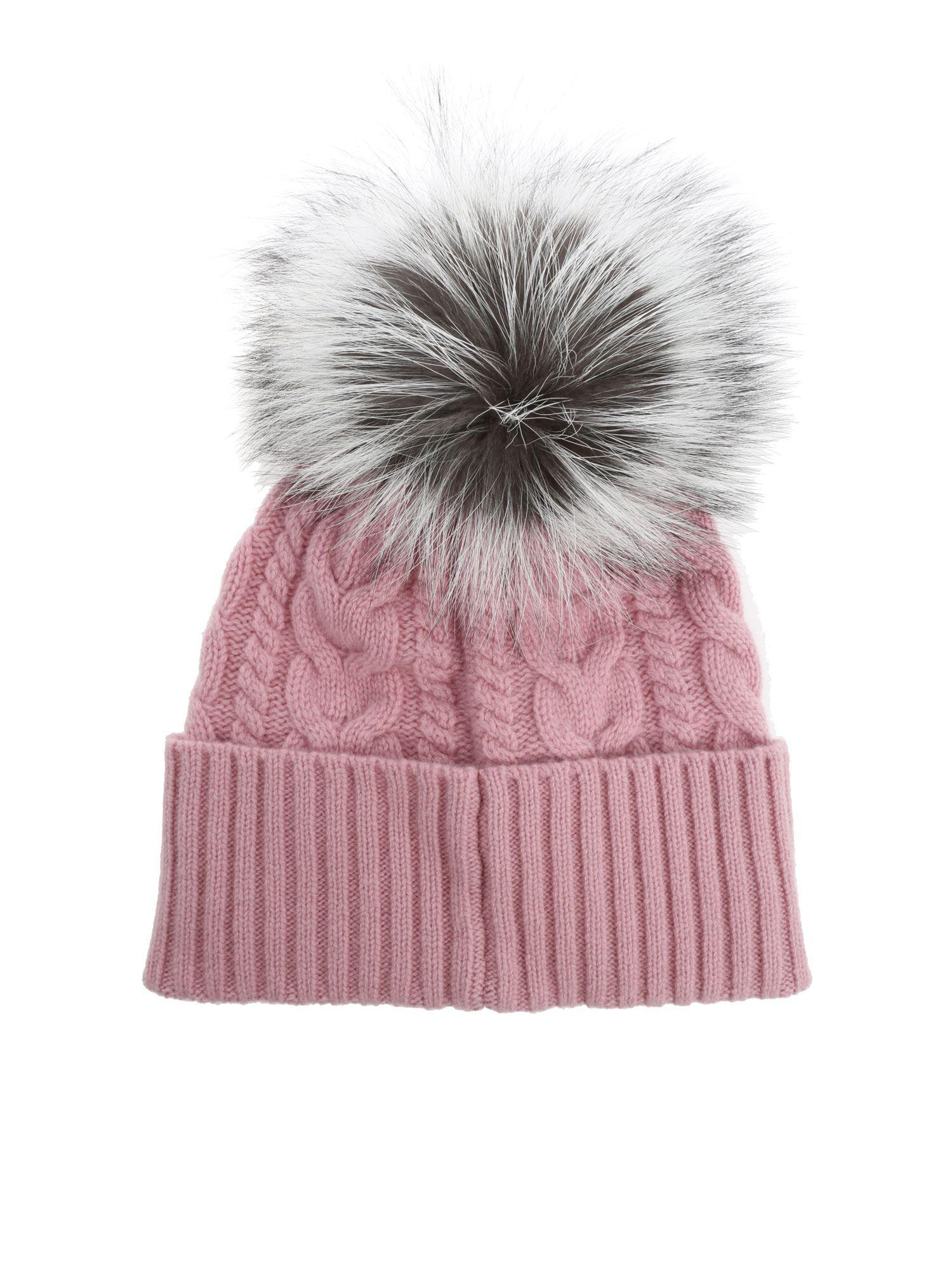 d2b601cae Moncler Pink Pom Pom Hat