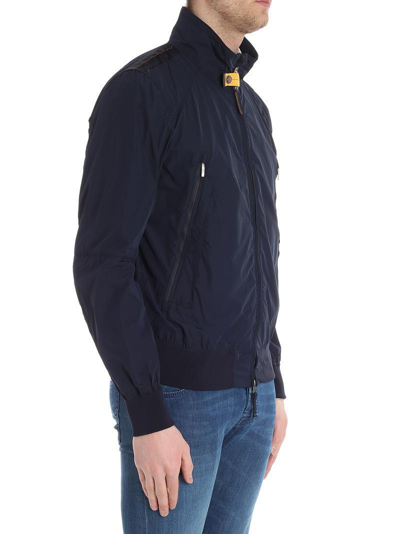 parajumpers celsius windbreaker jacket navy