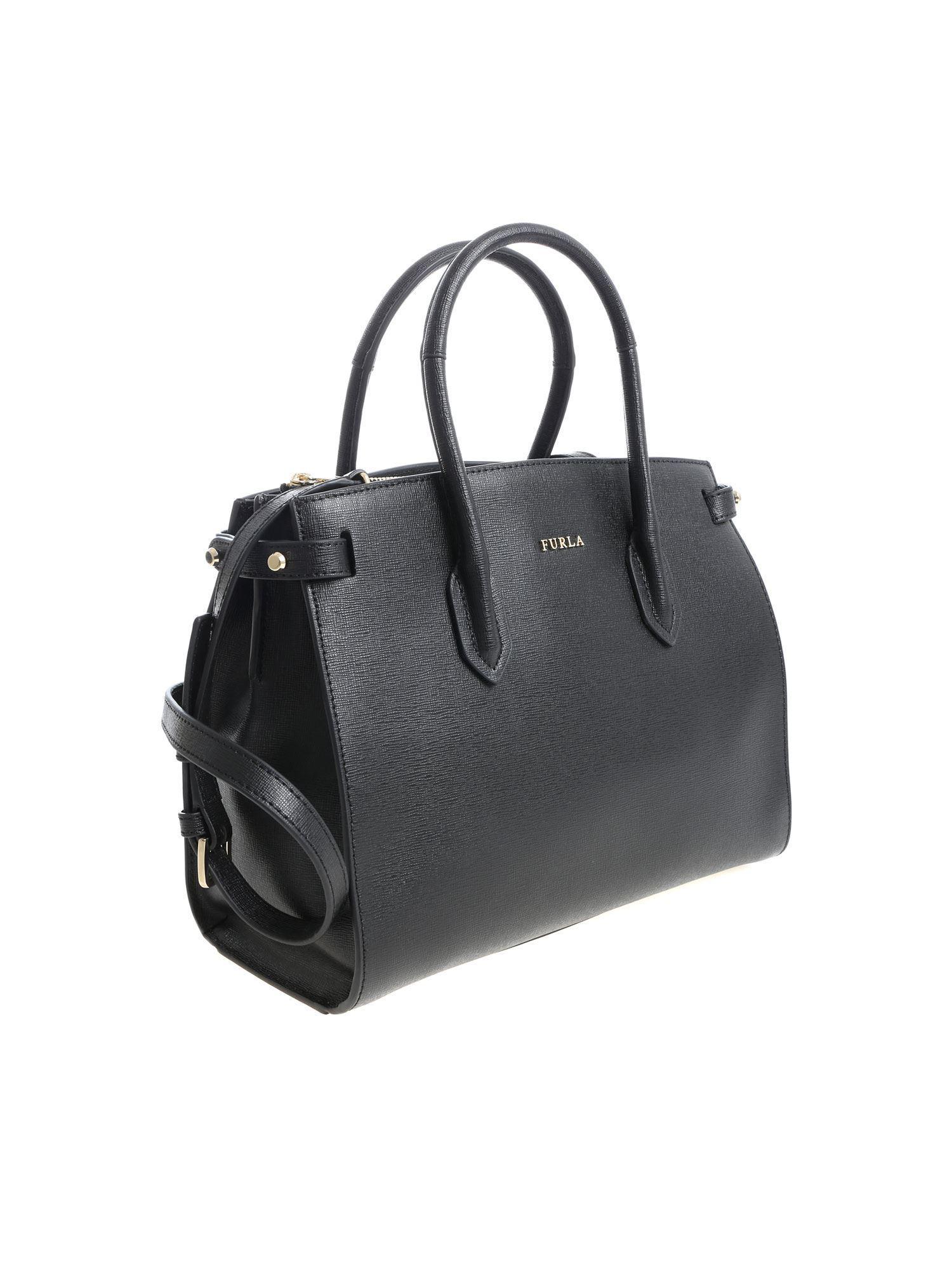 Pin Furla Handbag In Black Lyst Jc3FK1Tl