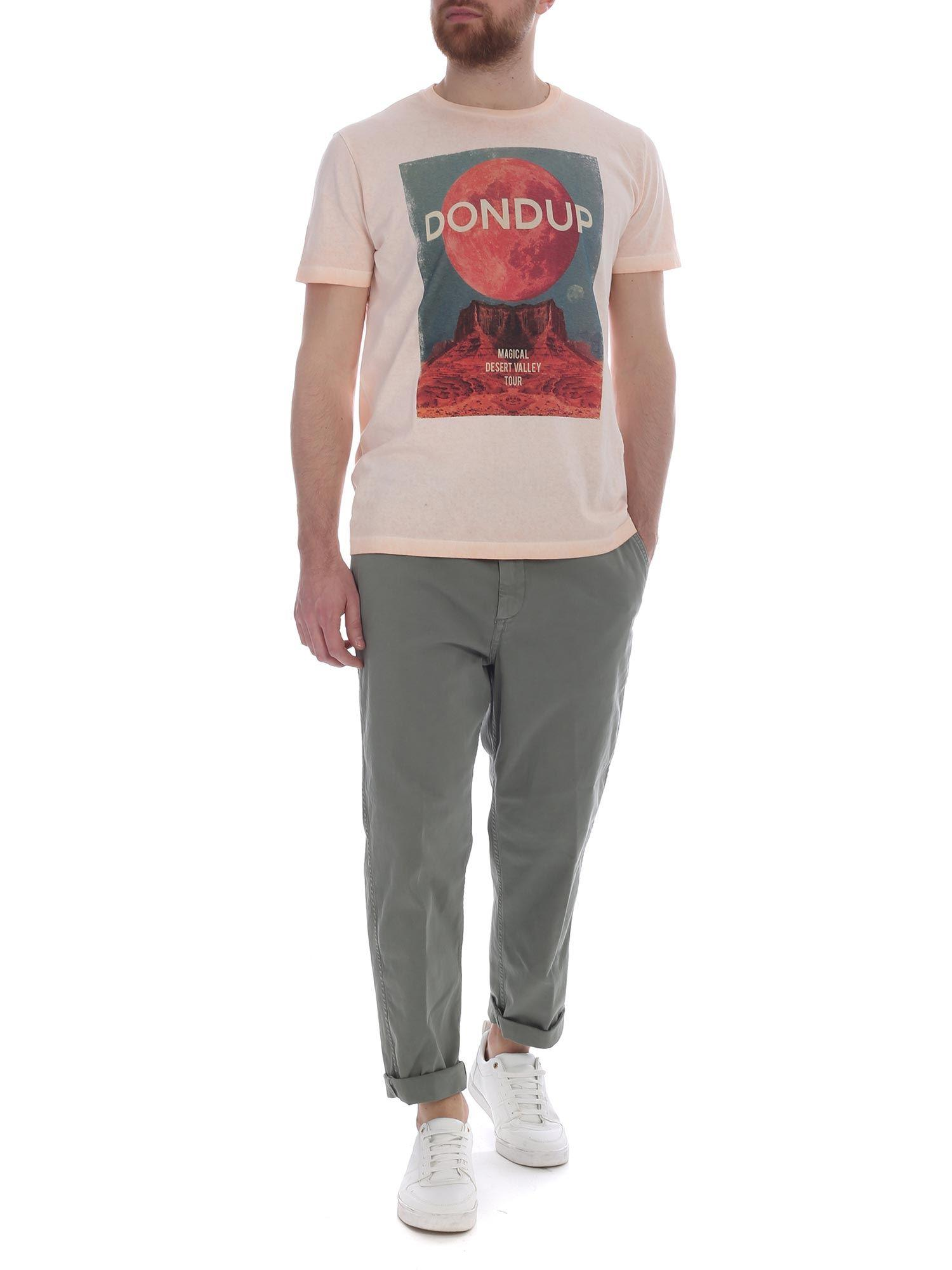 269322005 Lyst - Dondup Pink Magical Desert Valley Tour T-shirt in Pink for ...