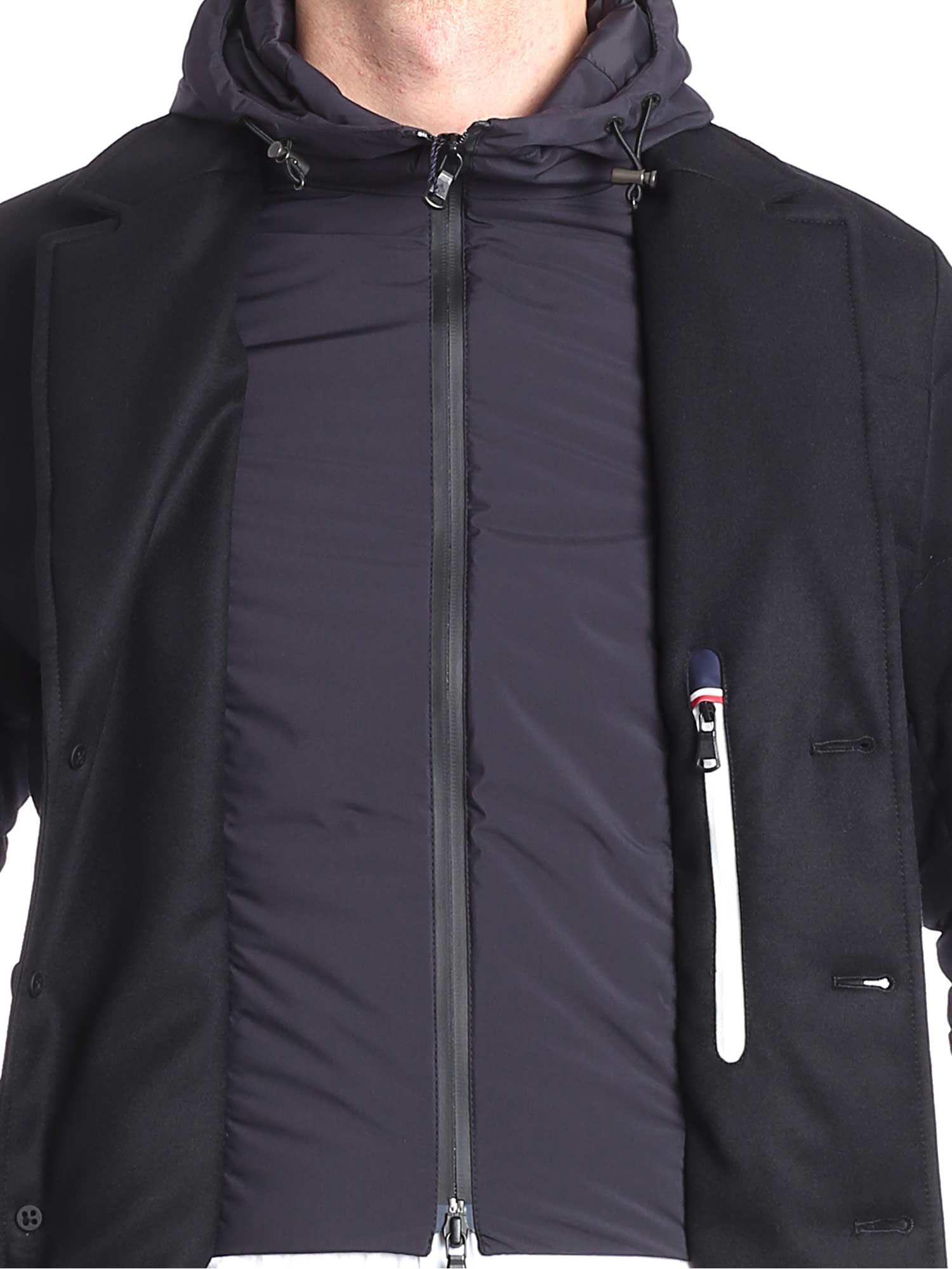 239f8f622 Lyst - Moncler Vernoux Black Down Jacket in Black for Men