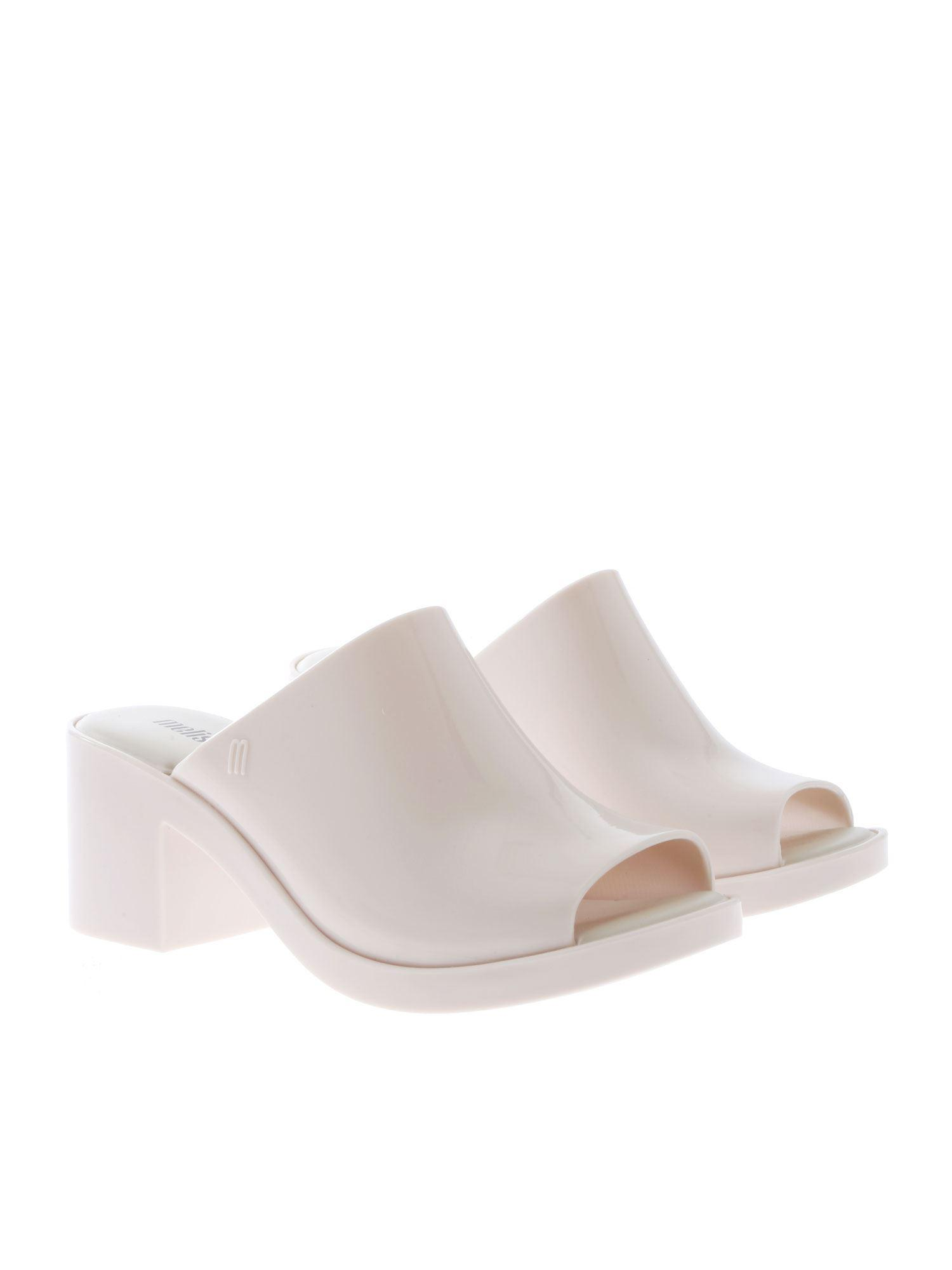 cb866c5c0644 Lyst - Melissa White Mule Ii Sandals in White