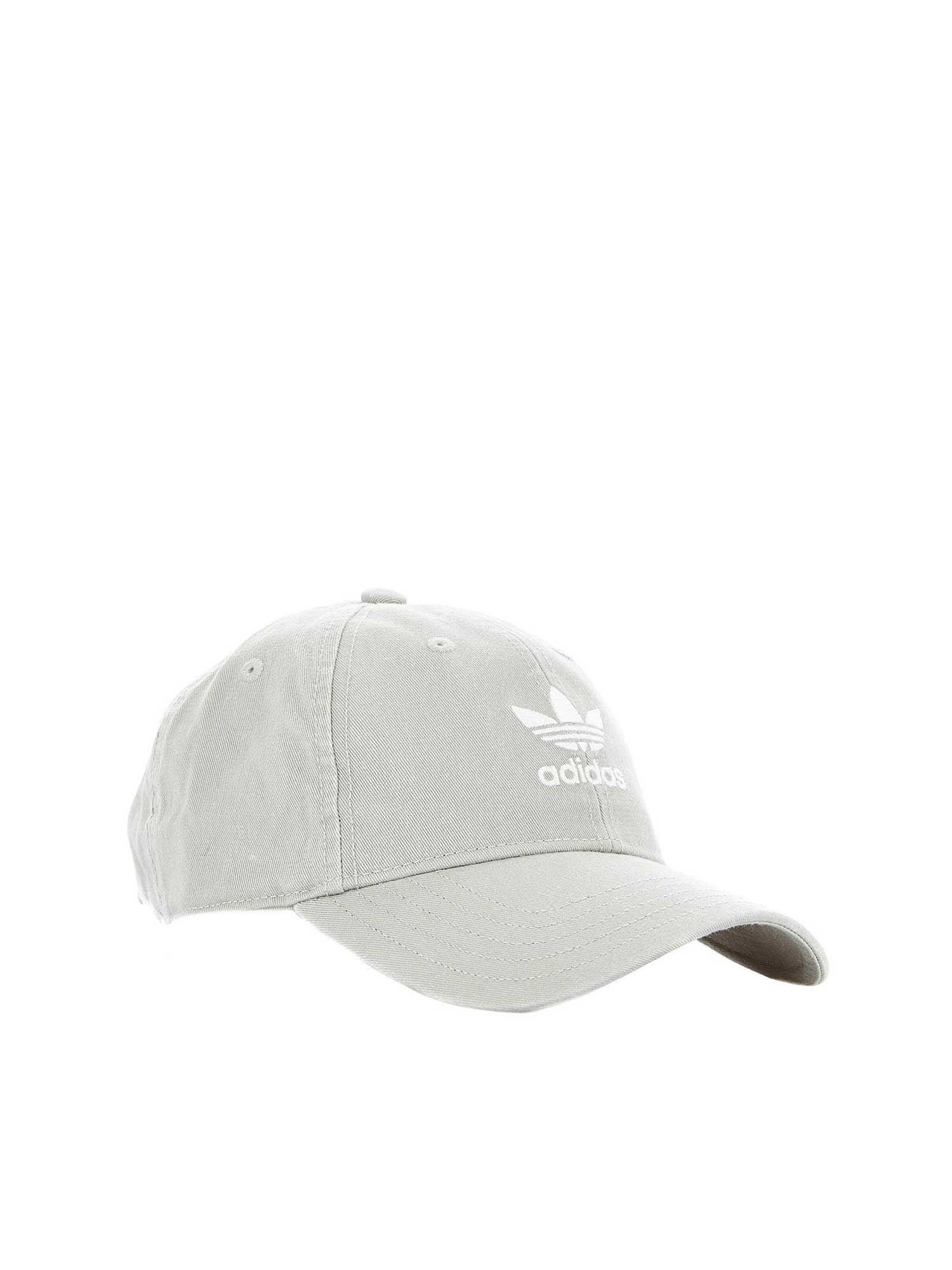 big sale 24d84 6270d adidas Originals. Women s Gray Adicolor Washed Cap ...