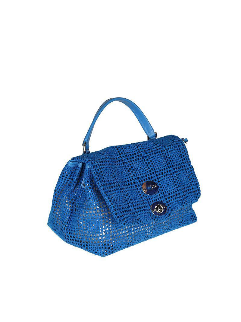 Blue Postina S bag - Palamitara line Zanellato XRsI5cjxv