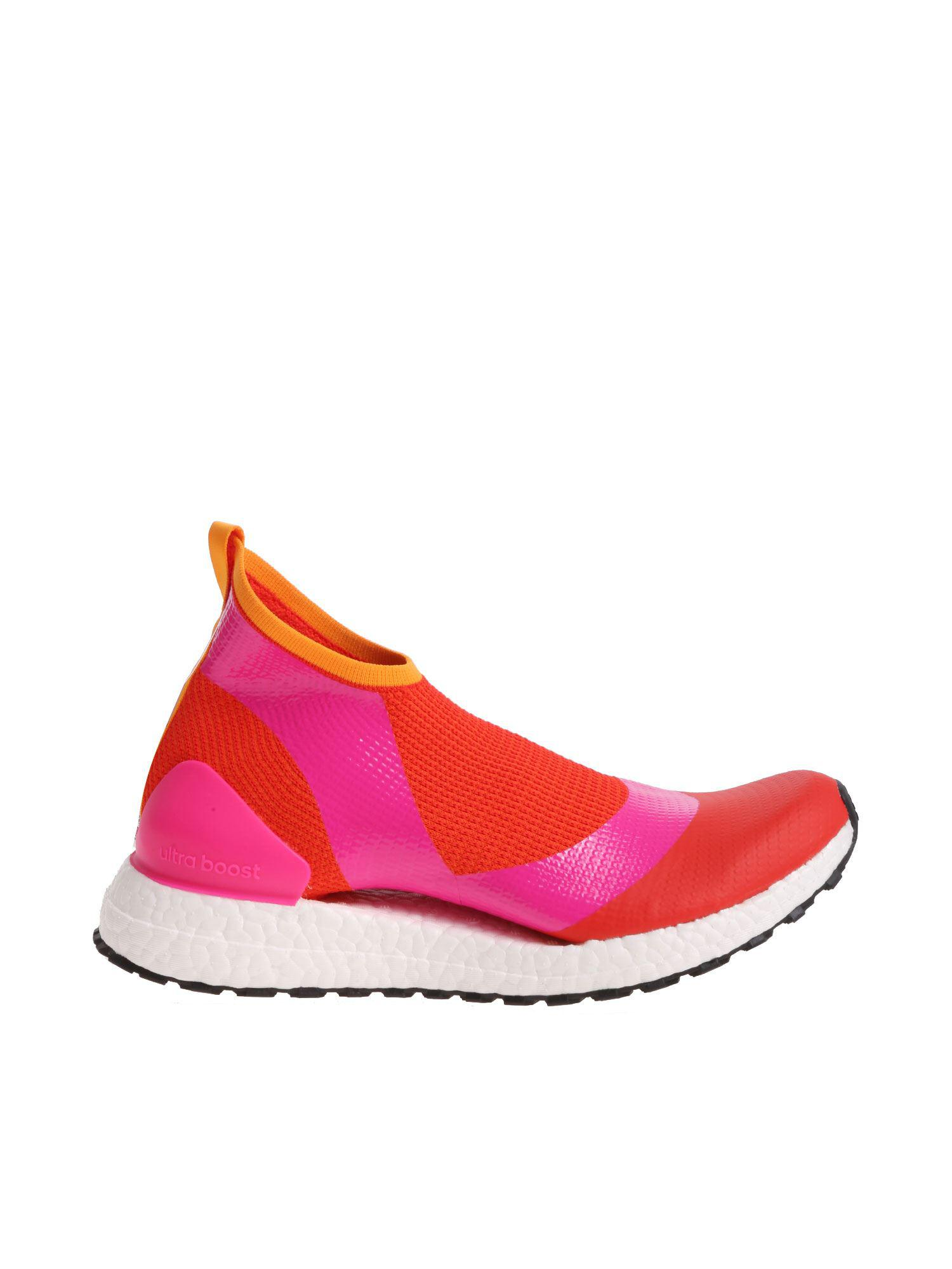dc6f0eb253494 adidas By Stella McCartney. Women s Red Ultraboost X All Terrain Trainers