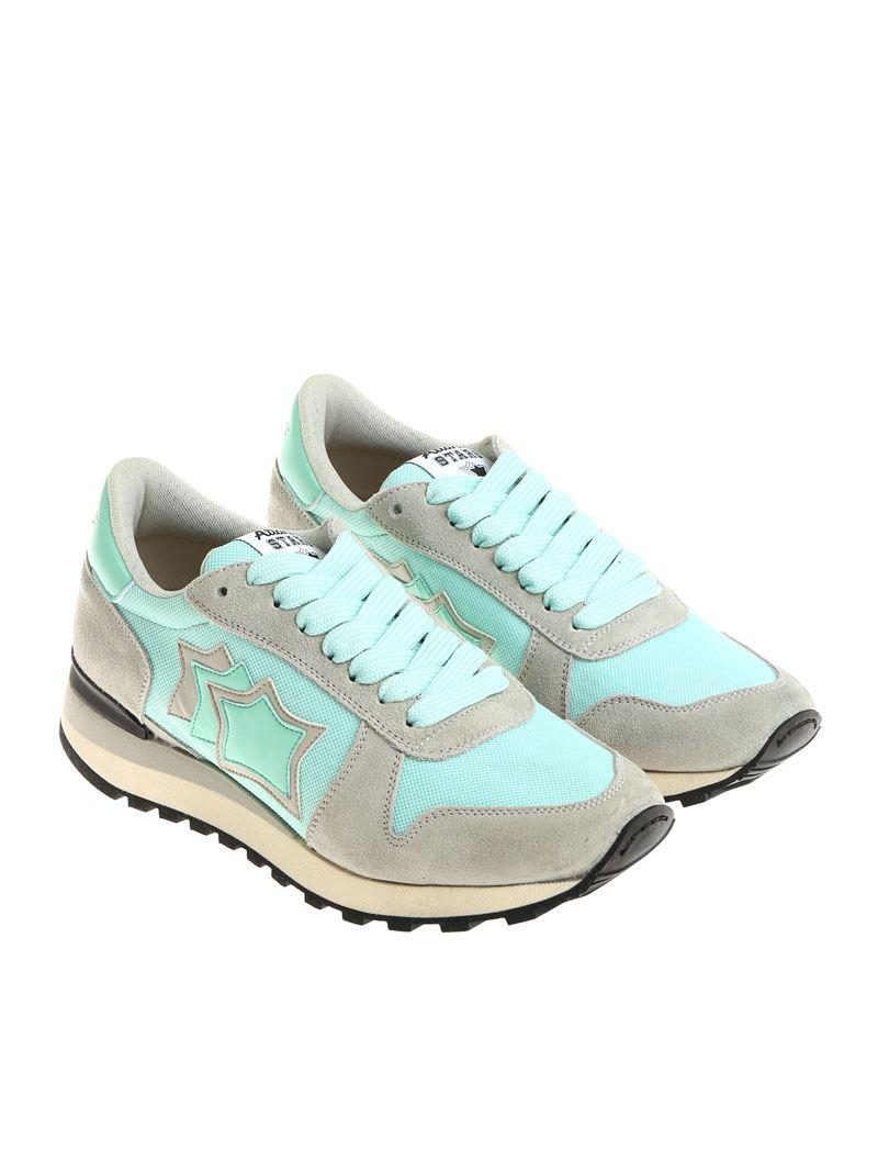 Gray and turquoise Alhena sneakers Atlantic Stars eZqn2z