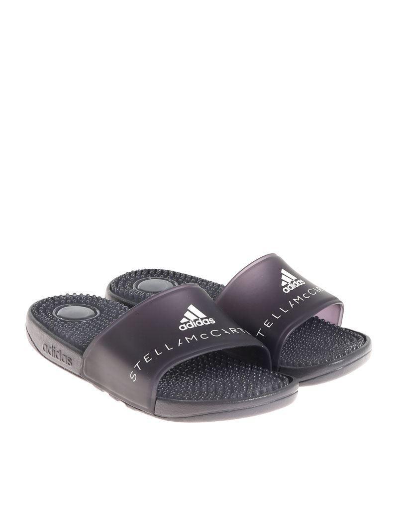 Adidas Par Pantoufles Stella Mccartney De Adissage Noir NMWx9oRX