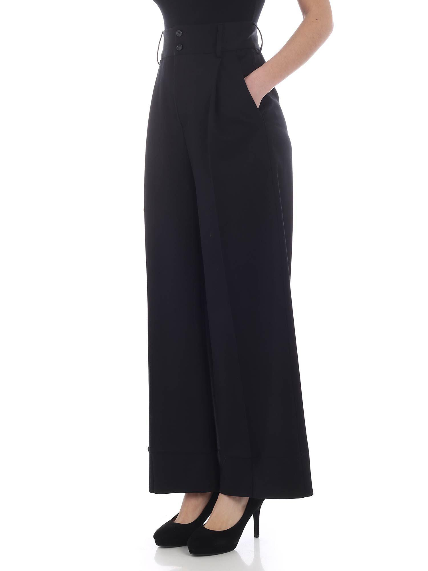 c3bb600b mm6-by-maison-martin-margiela-black-High-waisted-Black-Palazzo-Trousers.jpeg
