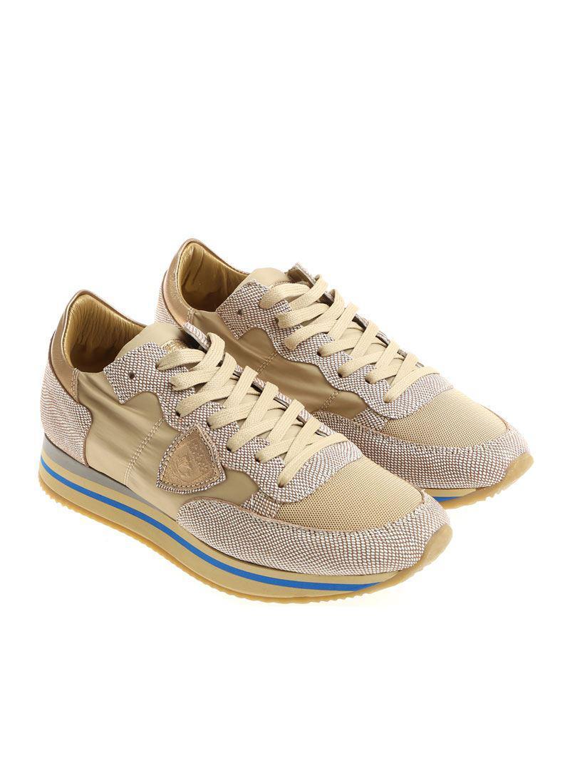 Beige Tropez Higher L sneakers Philippe Model RlunXMV