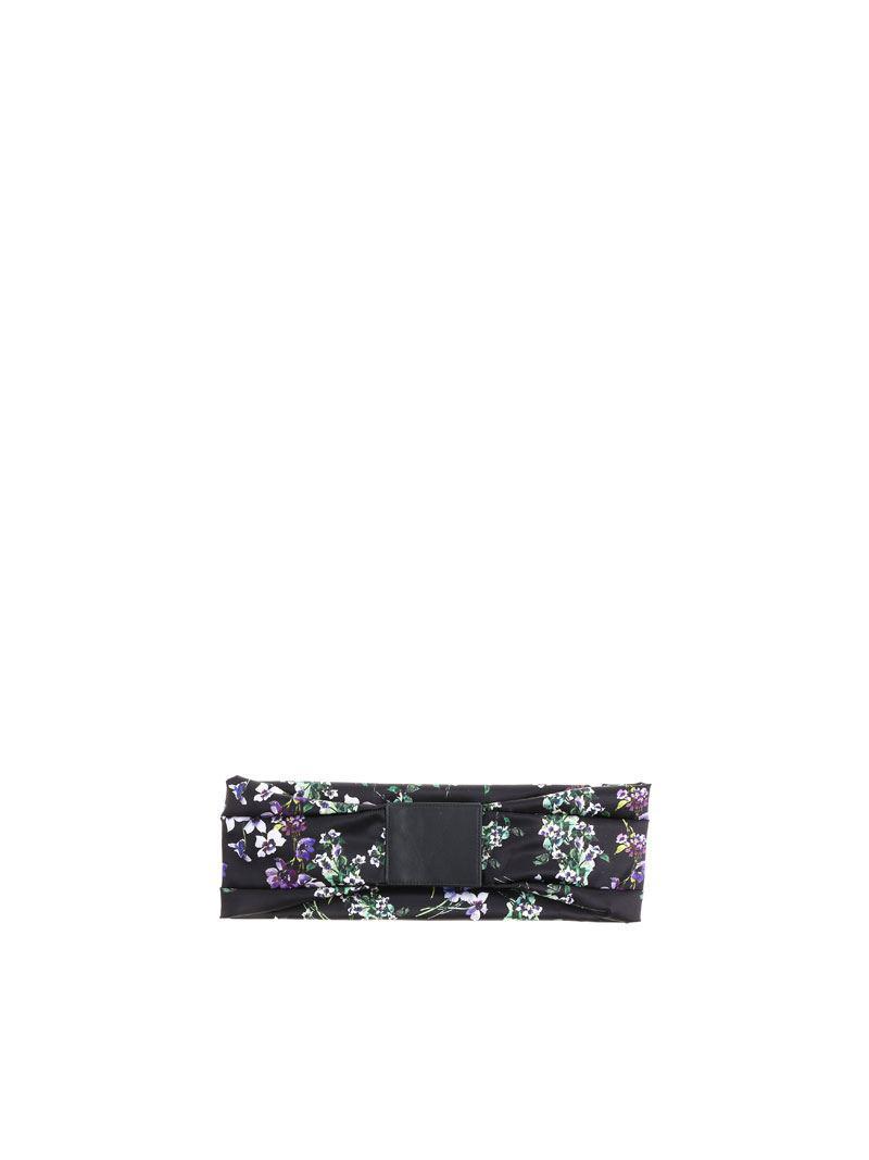 Black floral belt Blumarine nj6zqiY37N