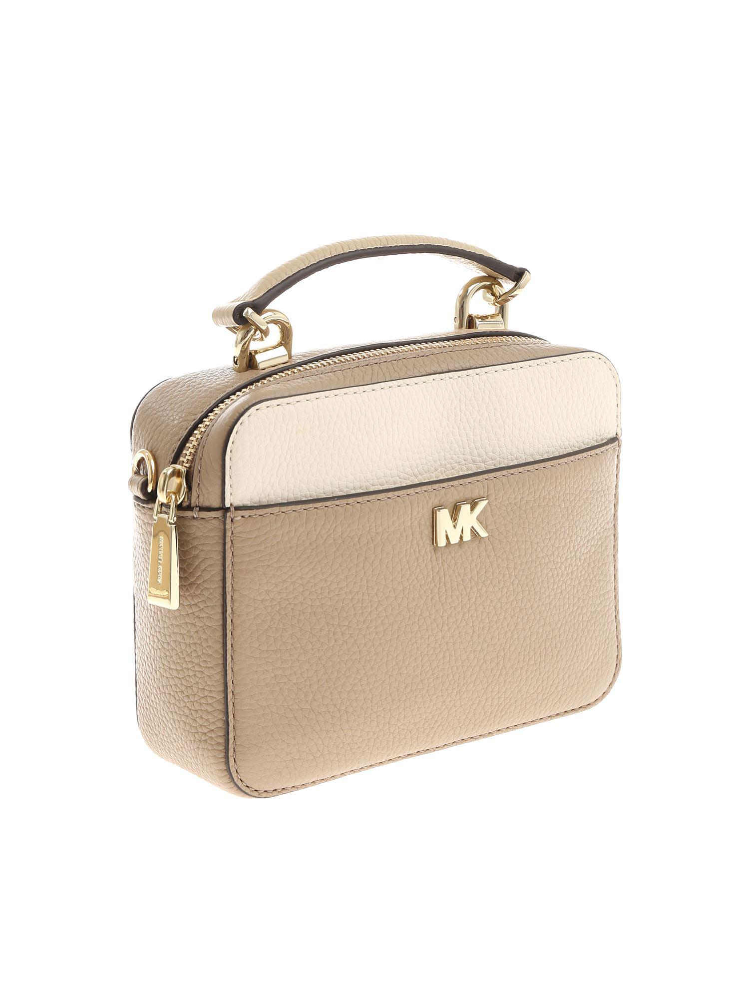 Michael Kors Multicolor Taupe Crossbody Bag Lyst View Fullscreen