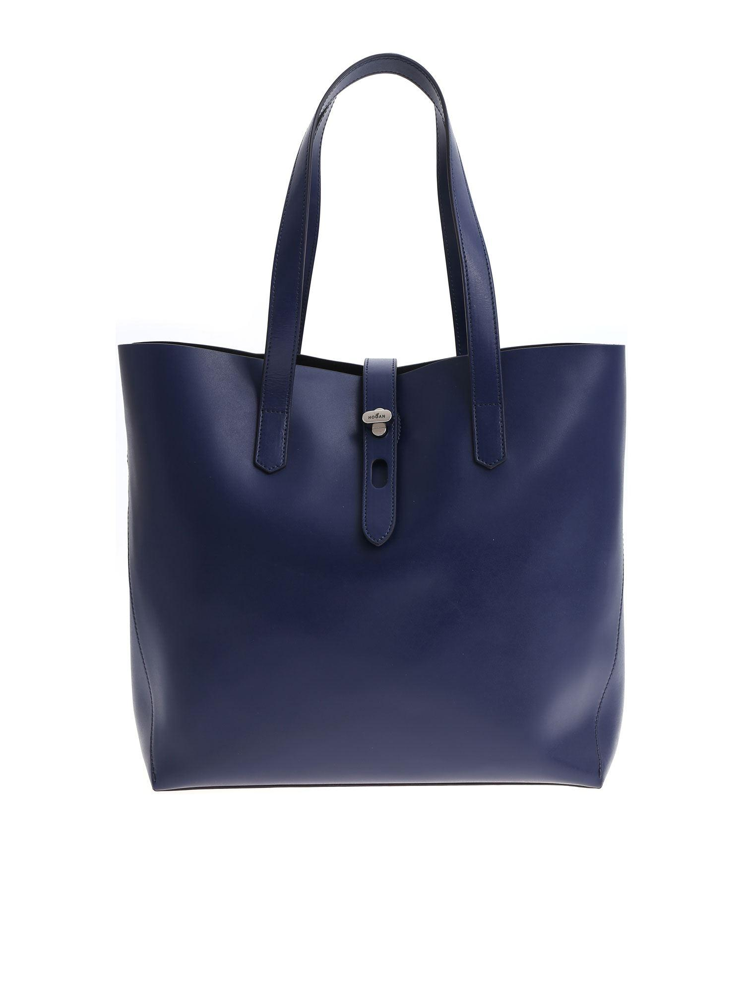 22c1c50eb6 Hogan - Dark Blue Shoulder Bag - Lyst. View fullscreen