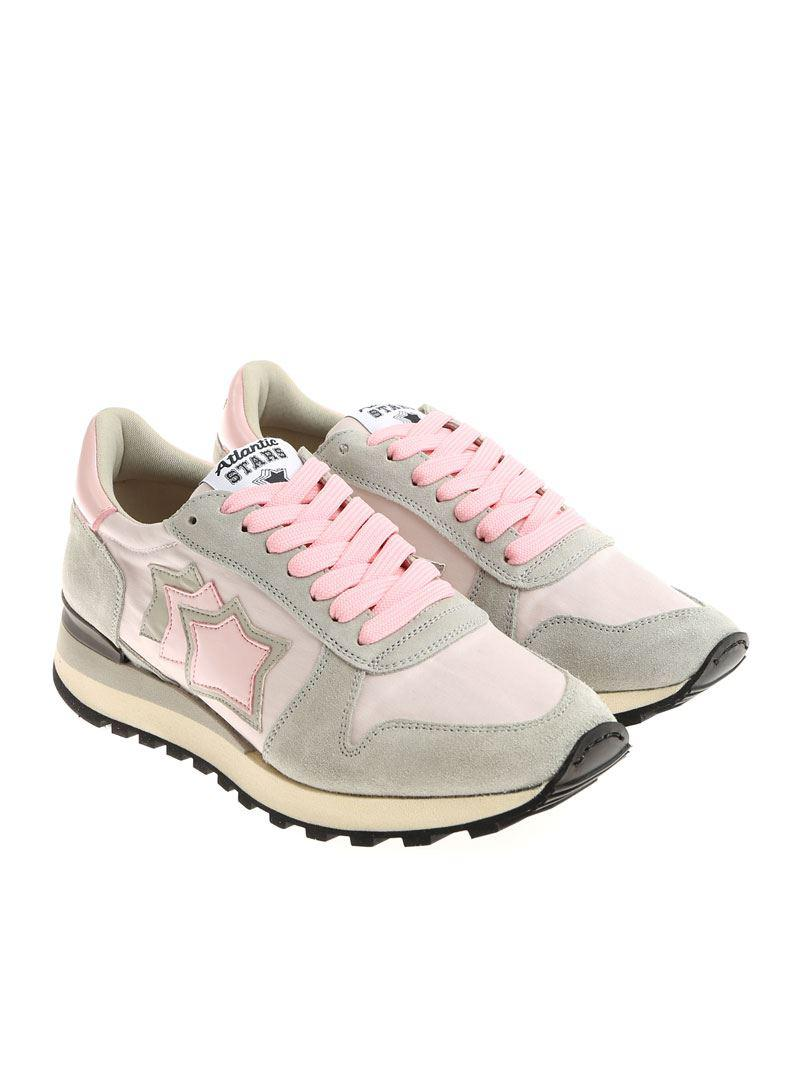 Pink and gray Alhena sneakers Atlantic Stars