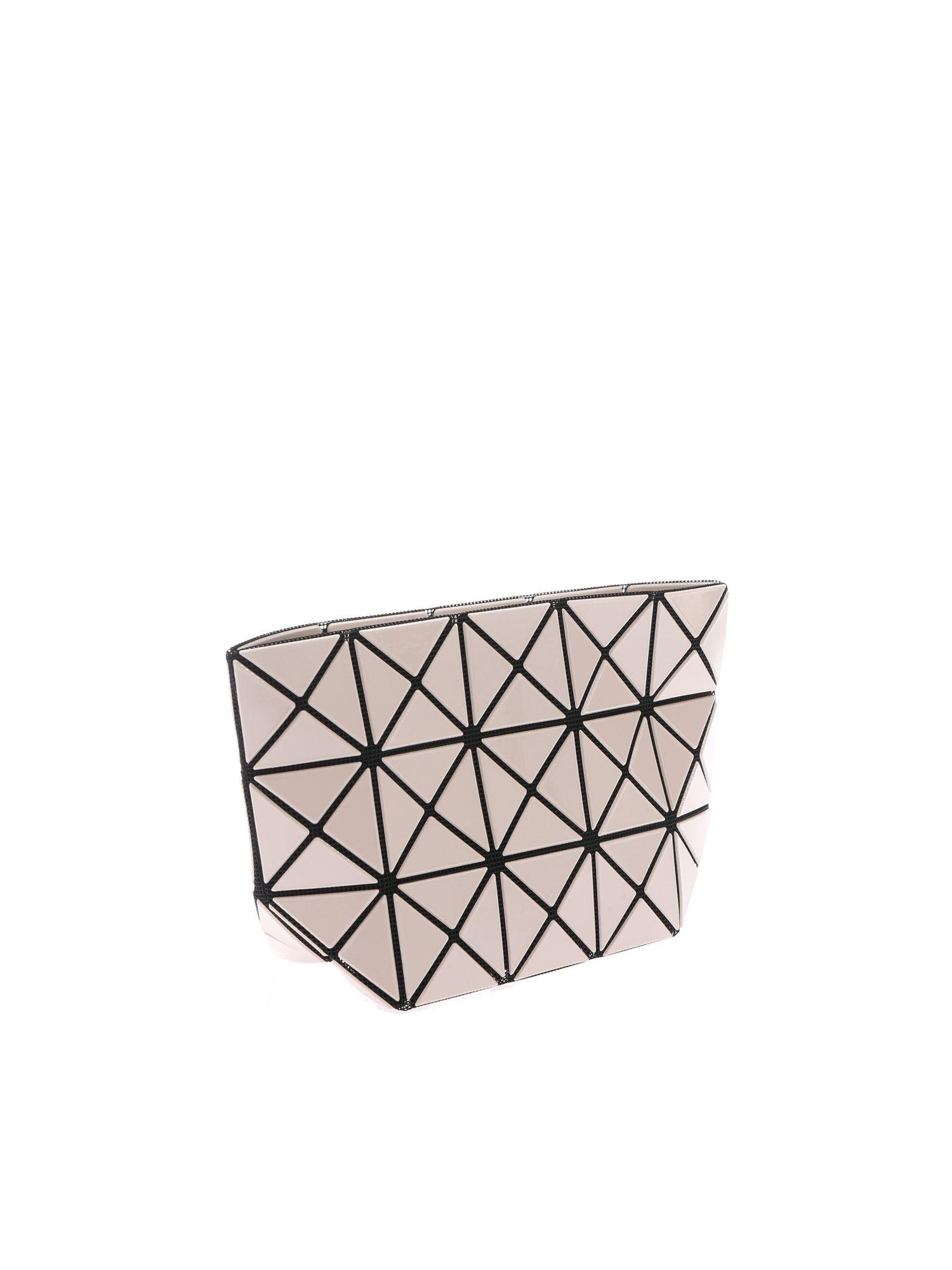 bf023dd0f84e Lyst - Bao Bao Issey Miyake Beige Prism Clutch With Triangles Motif in  Natural - Save 23.22834645669292%