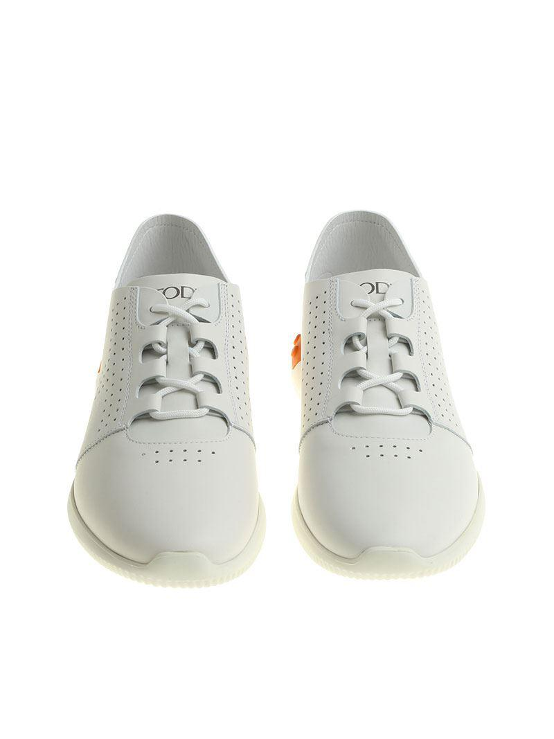 Online Shopping White pierced sneakers Tod's Buy Cheap For Cheap Fast Delivery Discount Manchester EkvLbcl