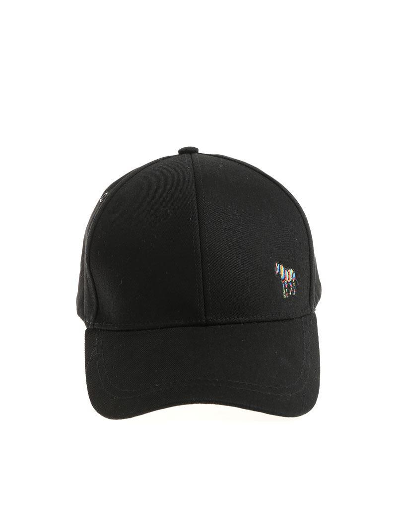 65f81dce98d Lyst - Ps By Paul Smith Black Logo Hat in Black for Men