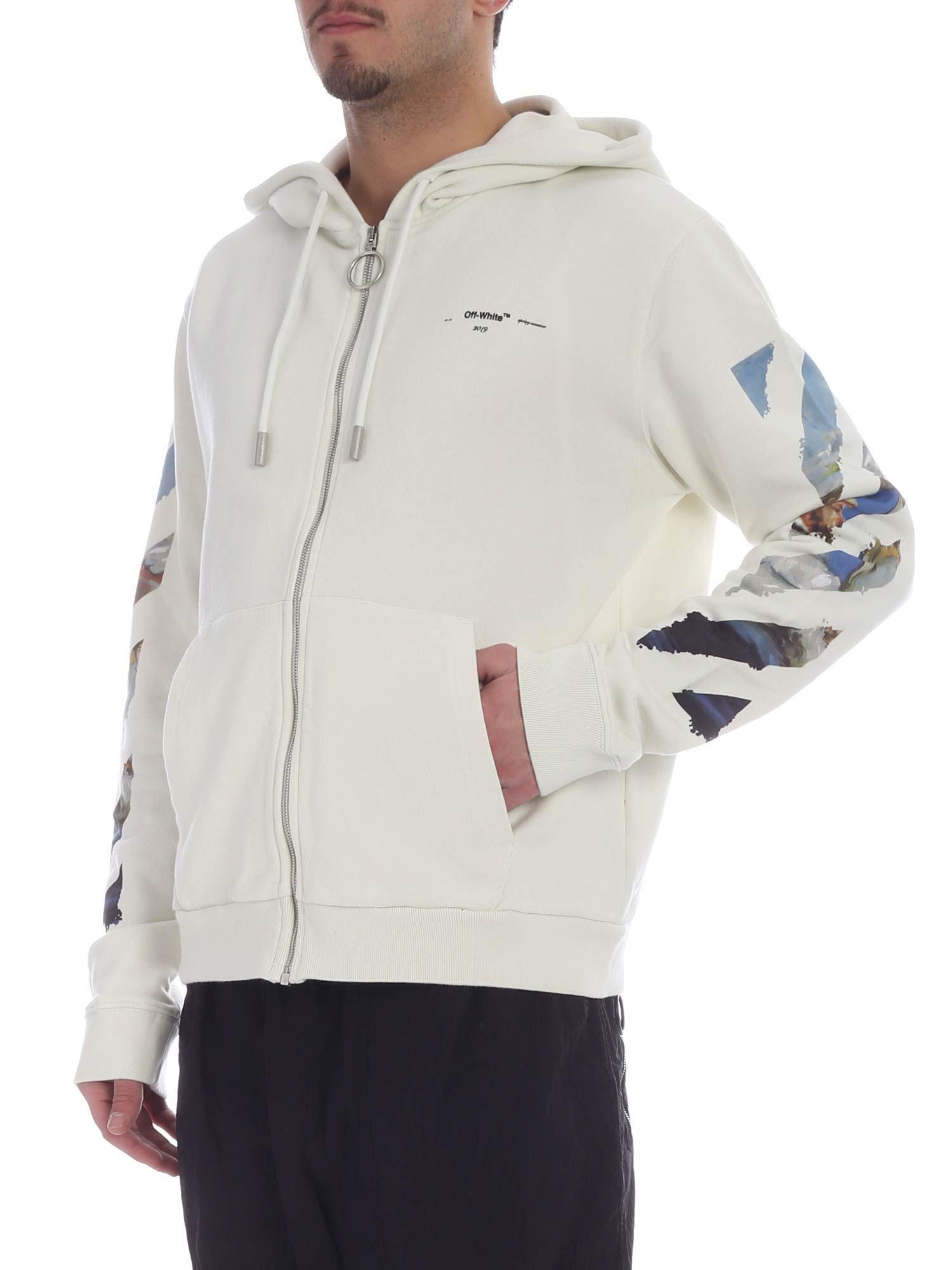 ... Virgil Abloh - White Diag Arrows Sweatshirt for Men -. View fullscreen 9cc963168