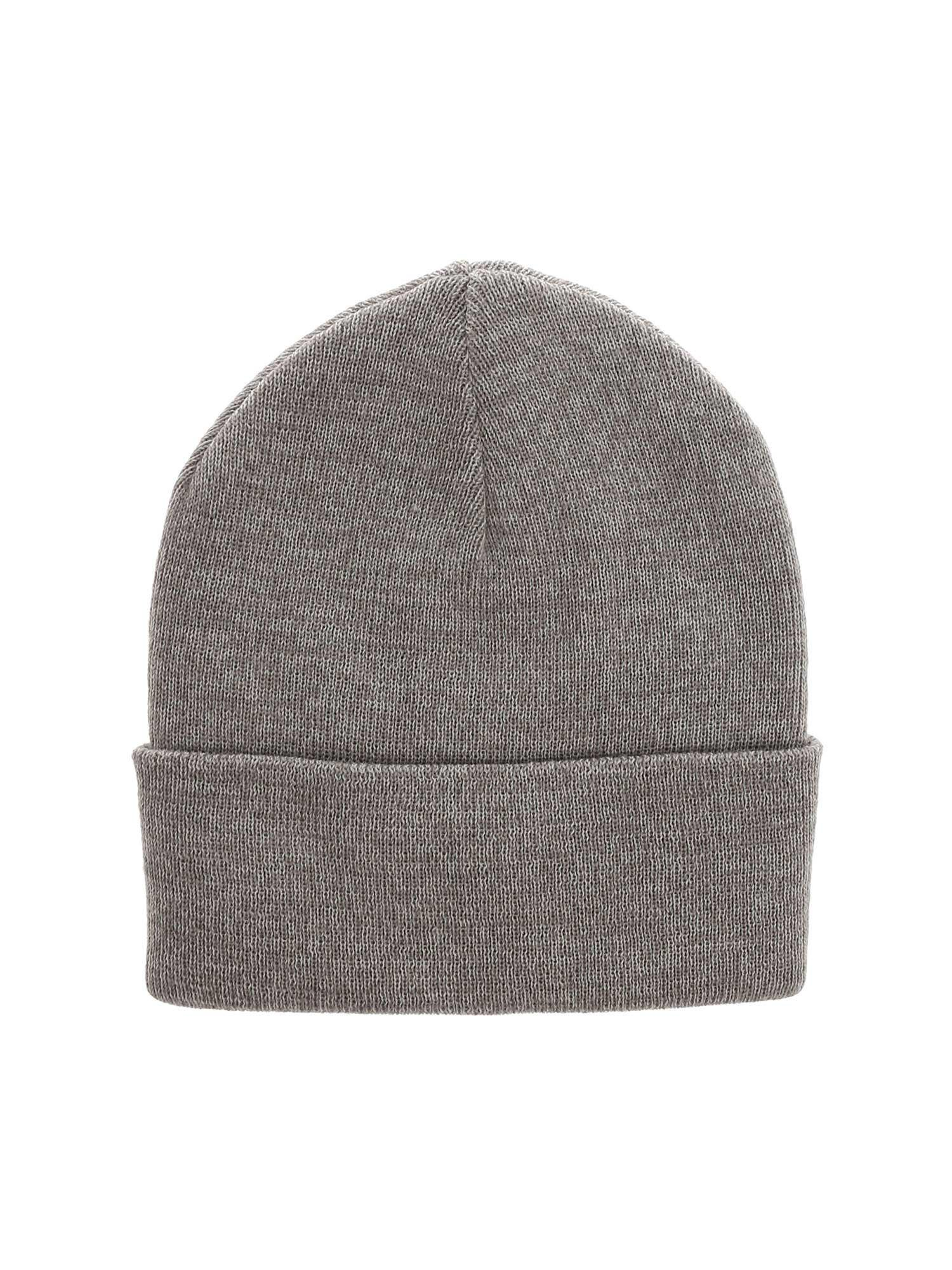 ec4efdbb1a4 Lyst - Y-3 Grey Merino Wool Logo Beanie in Gray for Men