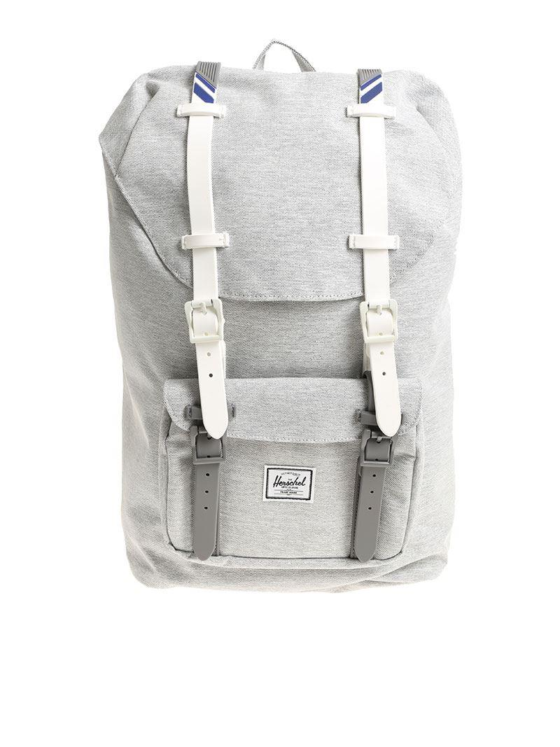 Lyst - Herschel Supply Co. Lil Amer Gray Backpack in Gray for Men 4502a334b28a9