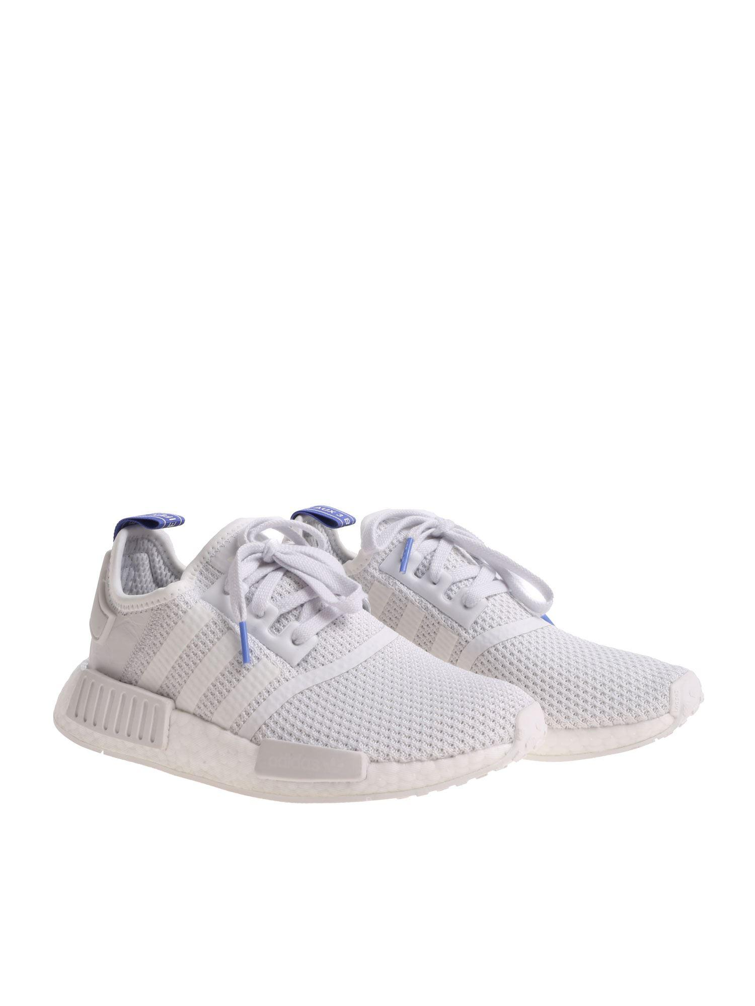 f570115f3 Adidas Originals Nmd r1 W White Sneakers in White - Lyst