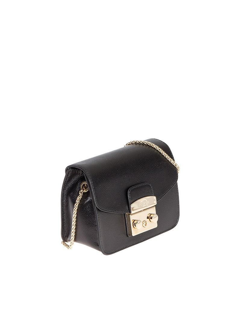 e3445de4719f Lyst - Furla Black Metropolis Bag in Black