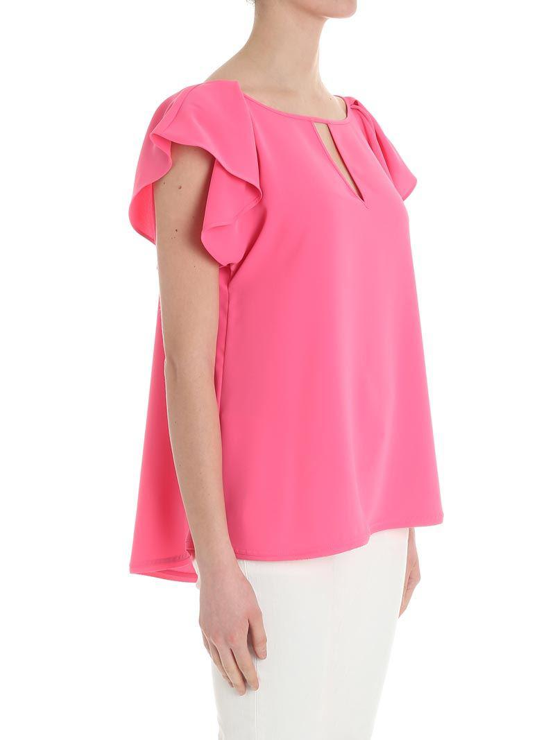 Pink Pantery top Parosh Limited Edition Cheap Price Great Deals 3qRgsCNEO