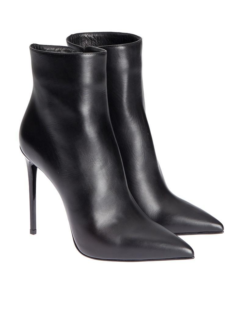 LE SILLA Leather Ankle Boots NCjiqHK
