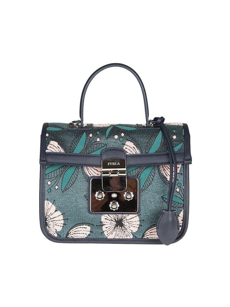 Fenice bag in shades of blue Furla Bd1Ey