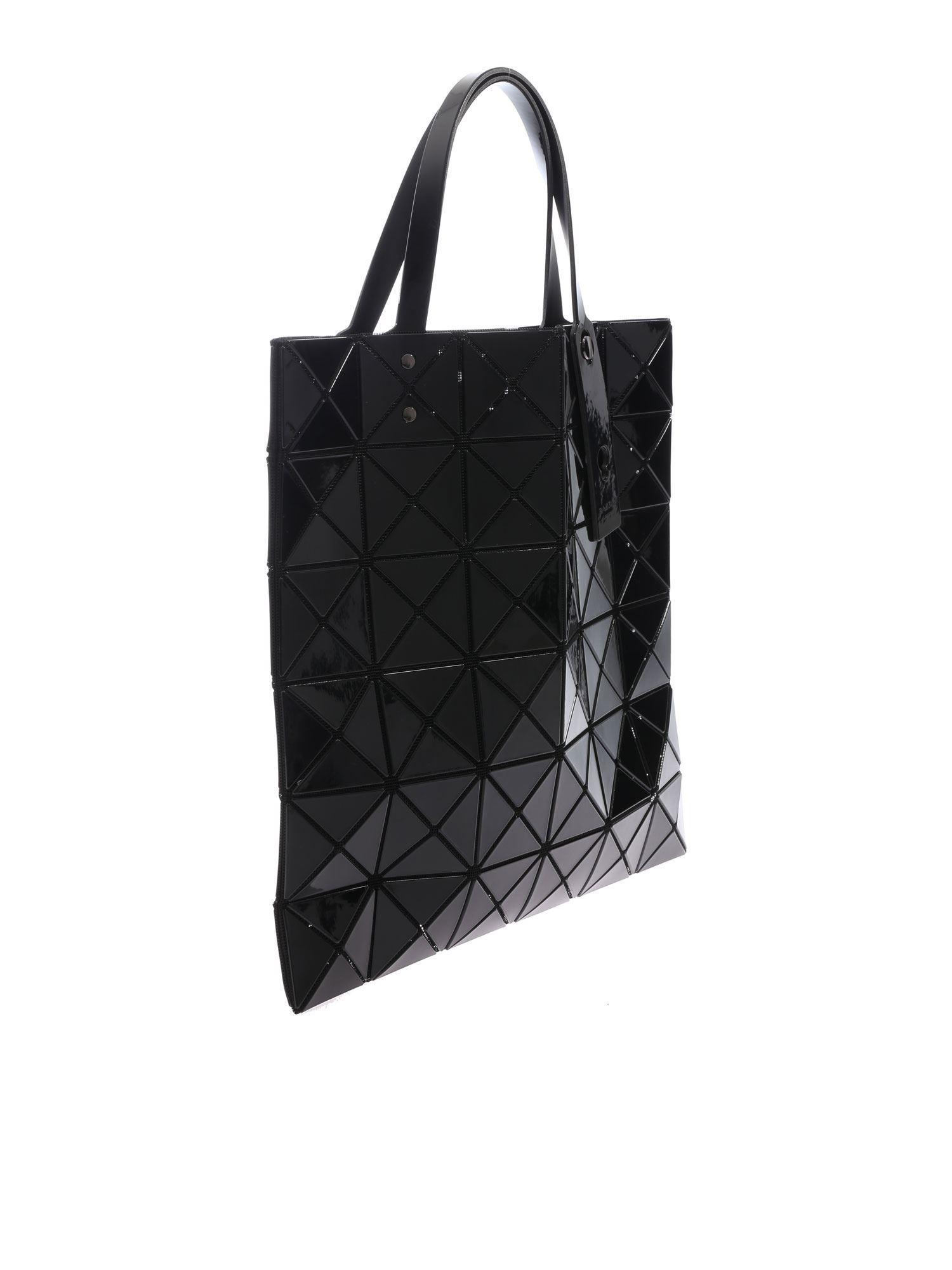 15675f31e8 Bao Bao Issey Miyake - Lucent Black Bag With Triangular Pattern - Lyst.  View fullscreen