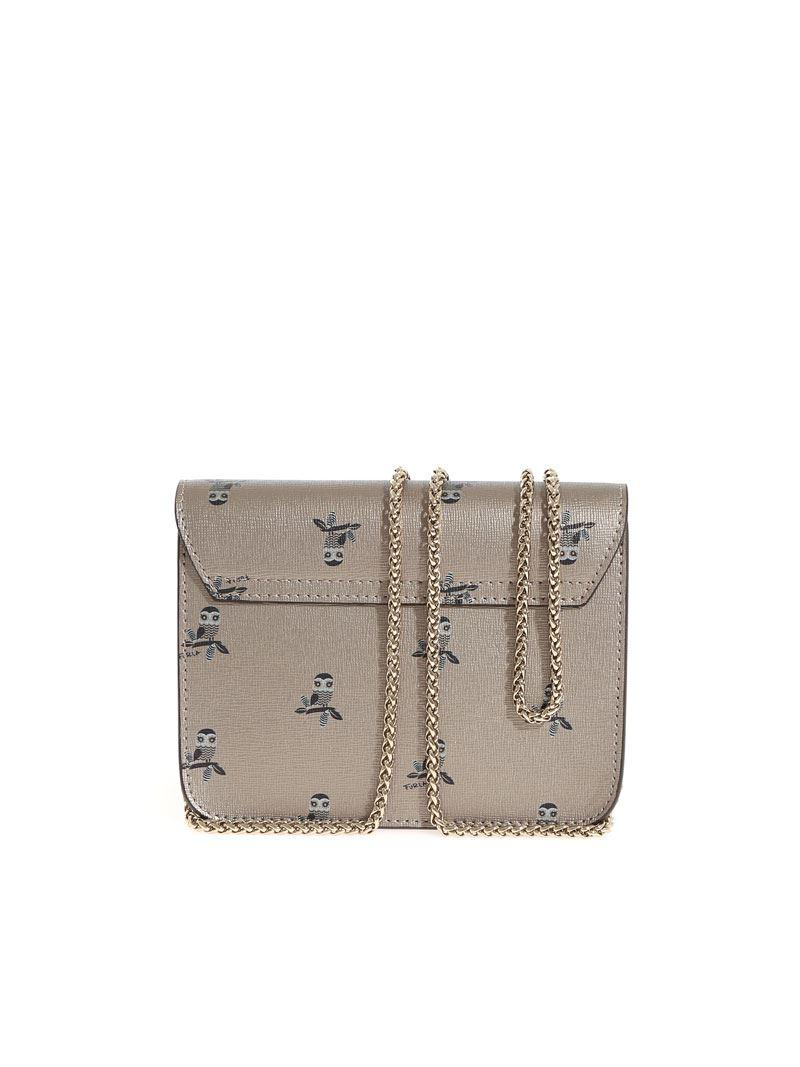Furla Metropolis bag with owl prints Fi0lypCcqP