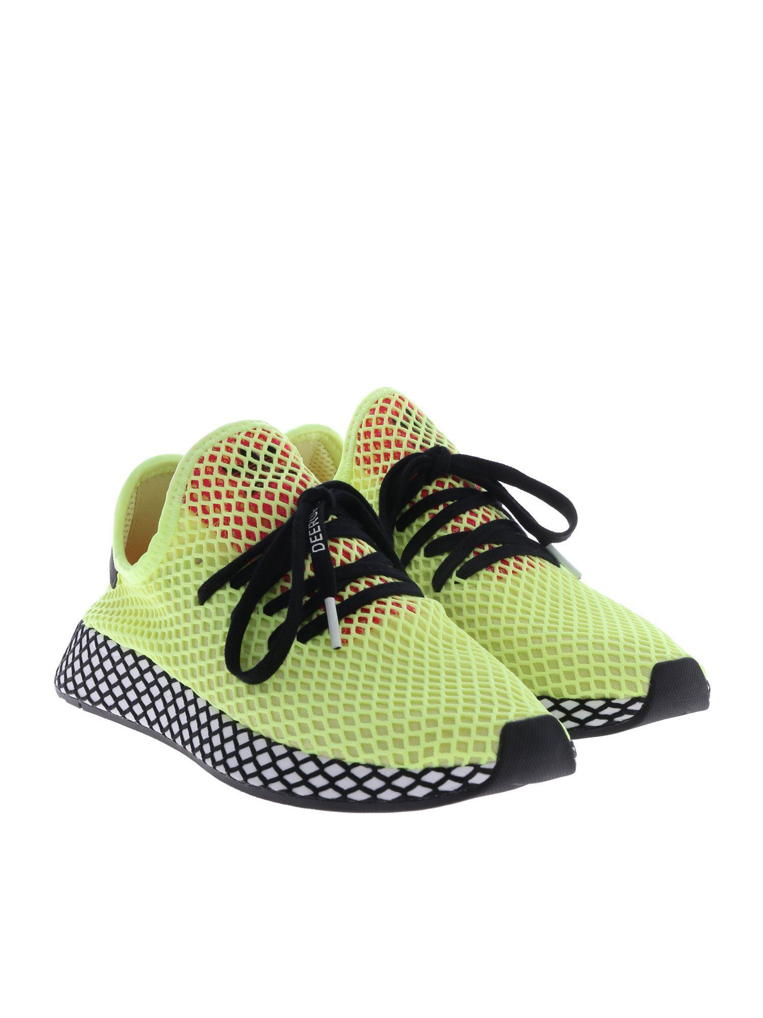 20fddfd5b Lyst - adidas Originals Deerupt Runner Sneakers In Yellow in Yellow for Men