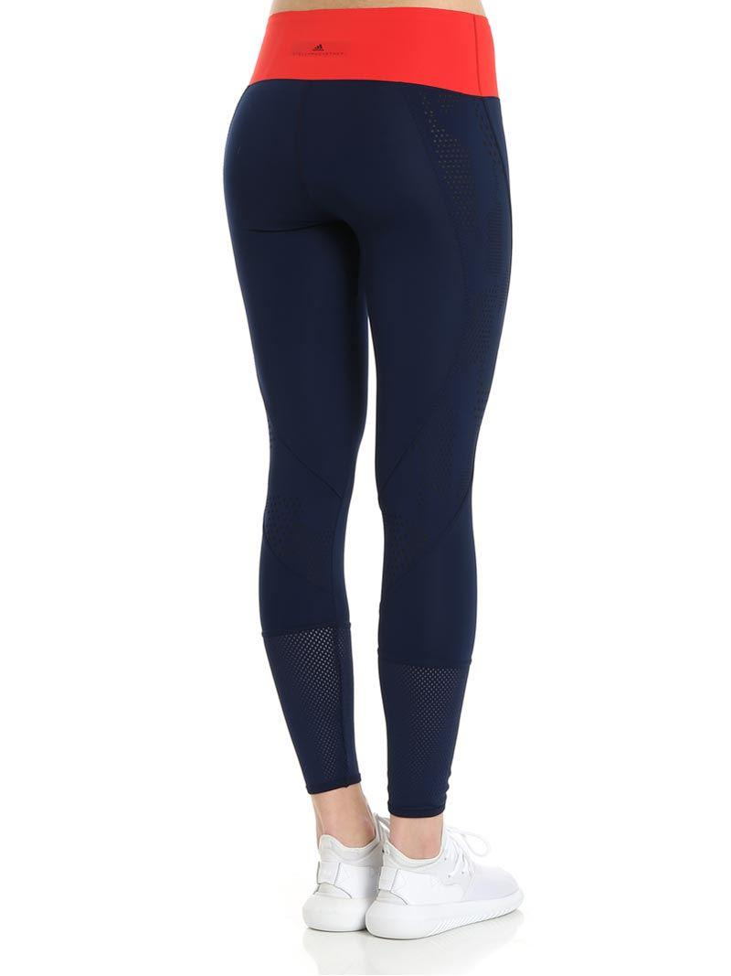 huge selection of a69e8 2fa30 Adidas By Stella Mccartney Blue Ultimate Training Leggings in Blue ...