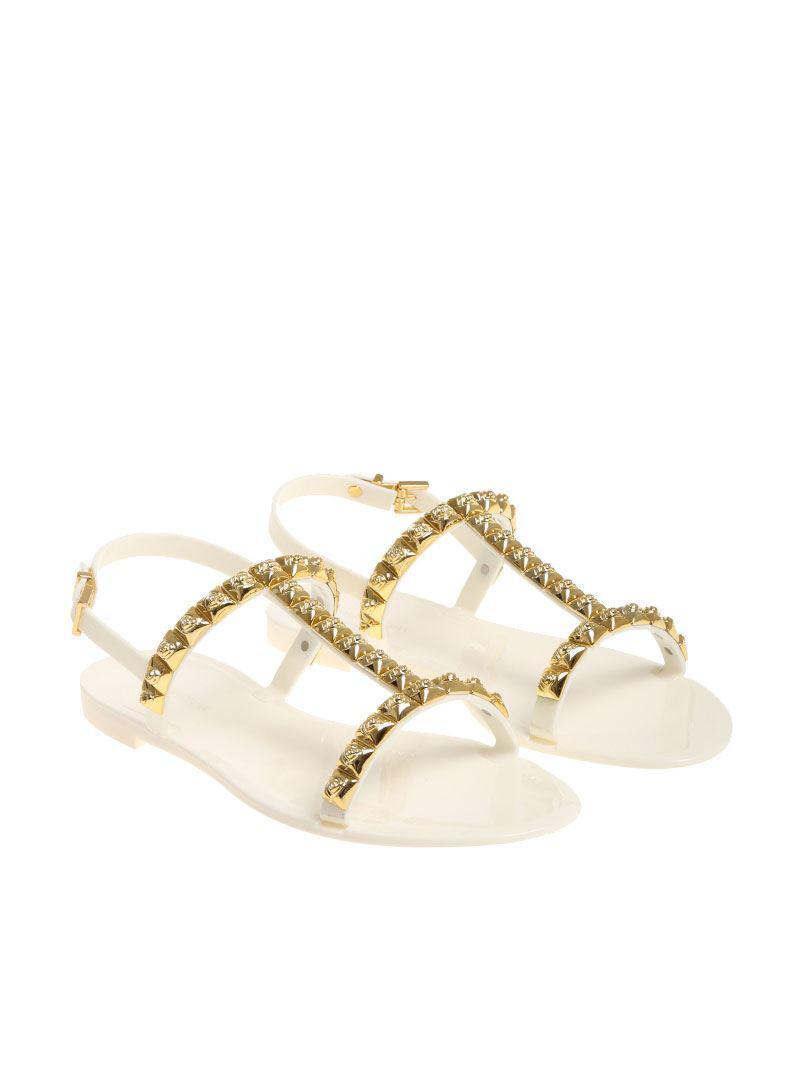White Jelrose sandals Stuart Weitzman cYRzx8nE8