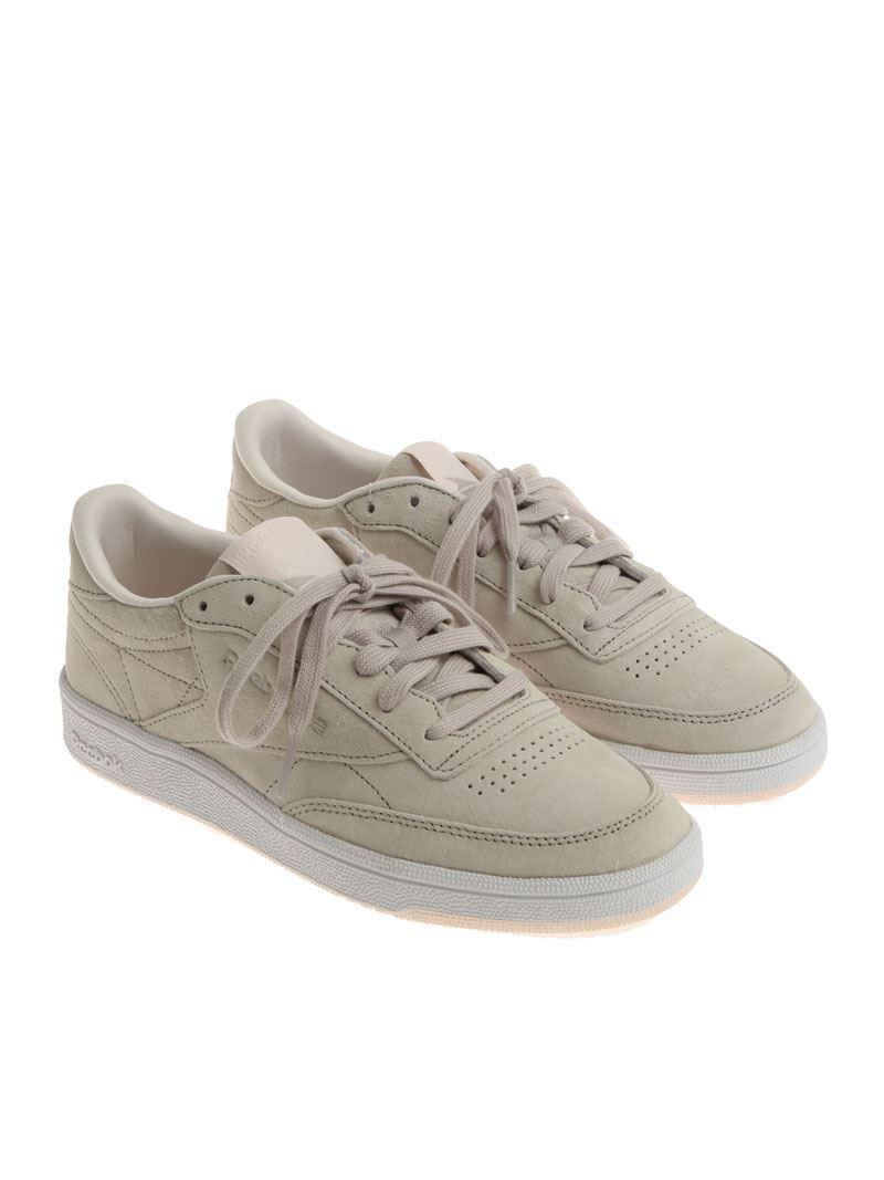 0a042e3932c Reebok Ice Colored Sneaker Club C 85 Tonal Nbk in Gray - Lyst