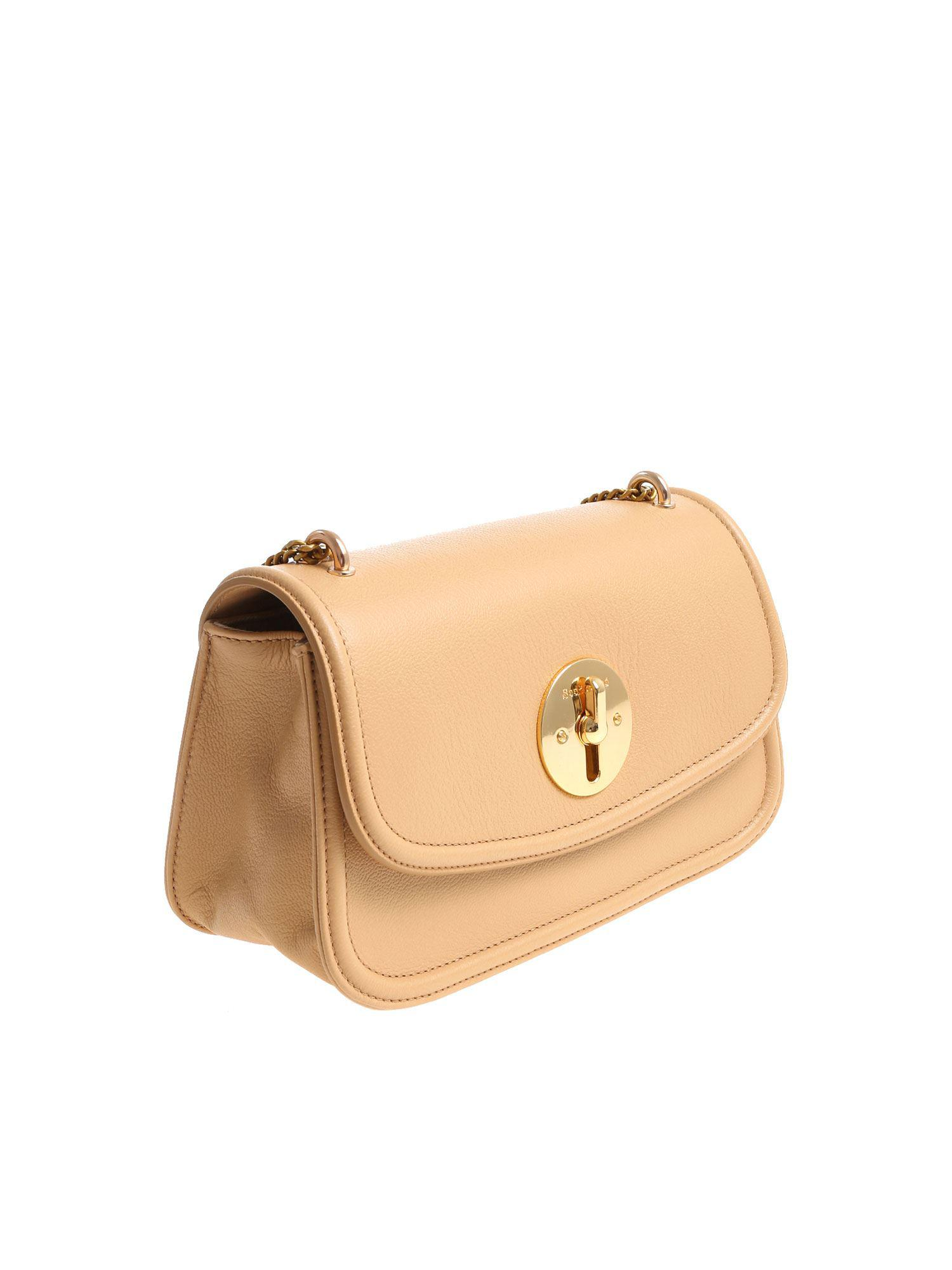 0b7da88372d ... Natural Nude Lois Shoulder Bag - Lyst. View fullscreen