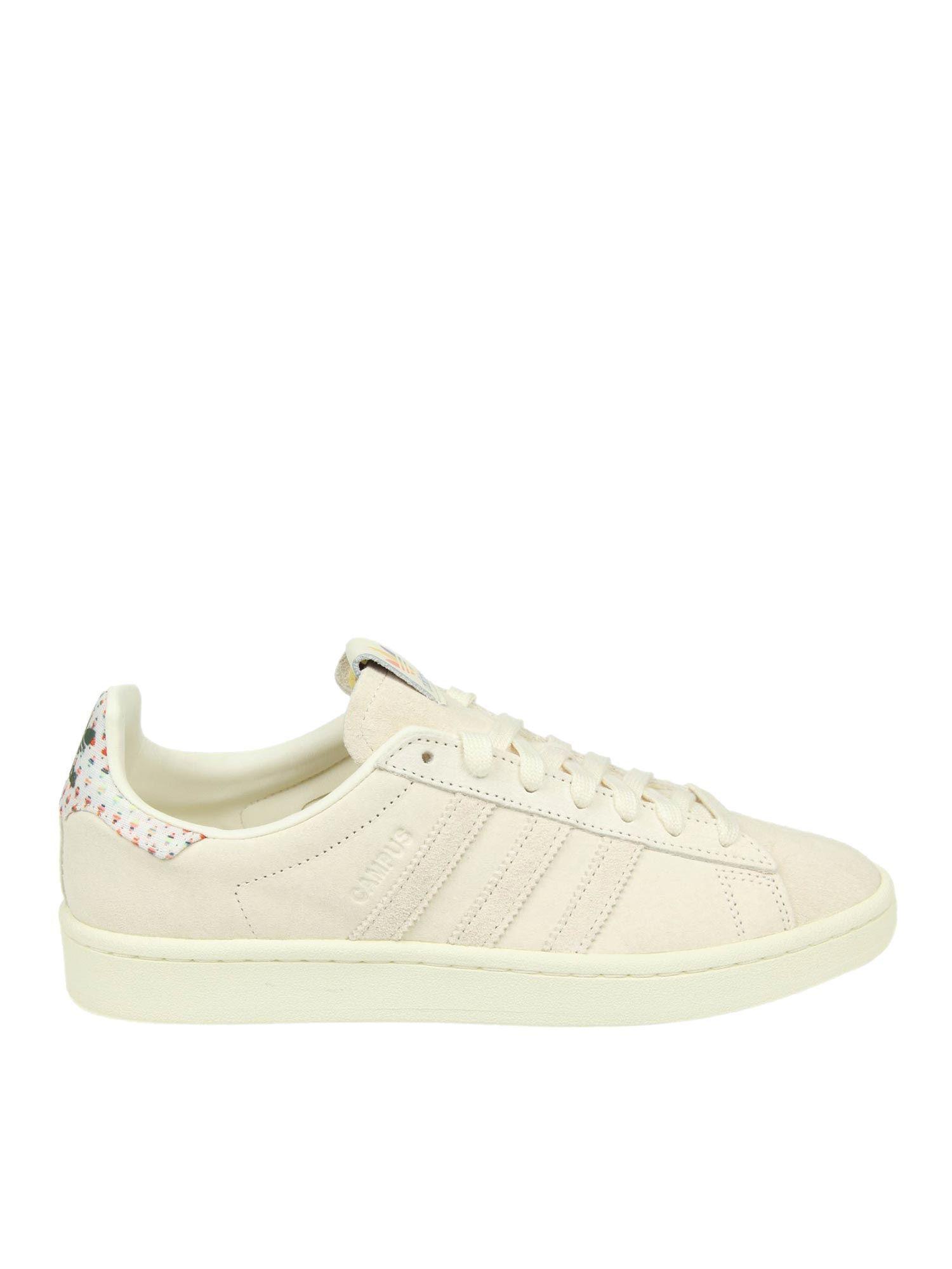 e6f23279c2be Lyst - adidas Originals Campus Pride Cream-colored Sneakers in ...