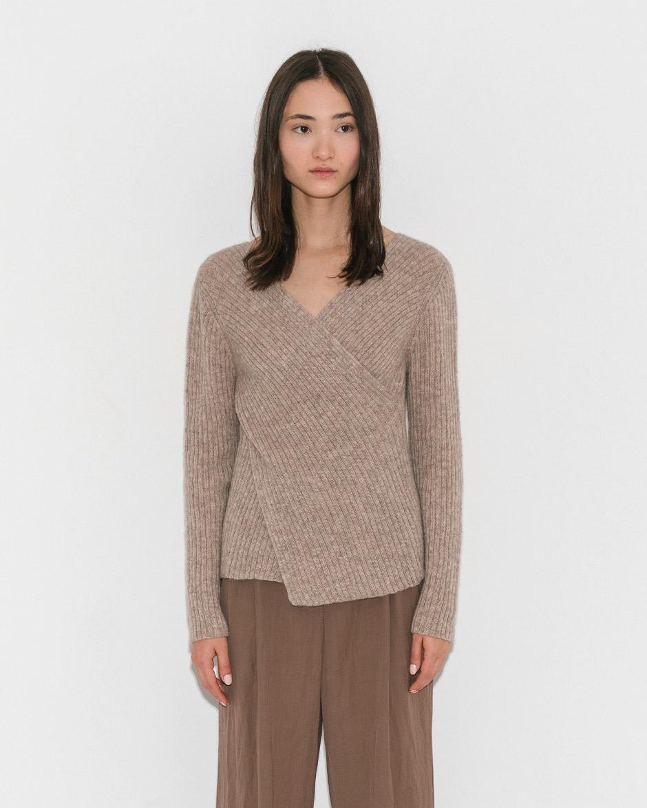 ae21fc1c2622dc Shaina Mote Melange Beige Didion Sweater in Natural - Lyst