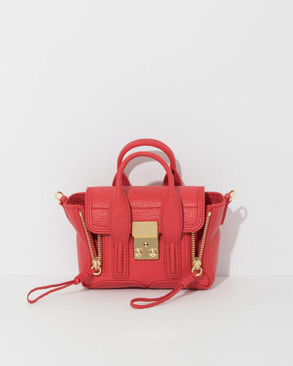 Pashli nano satchel - Red 3.1 Phillip Lim