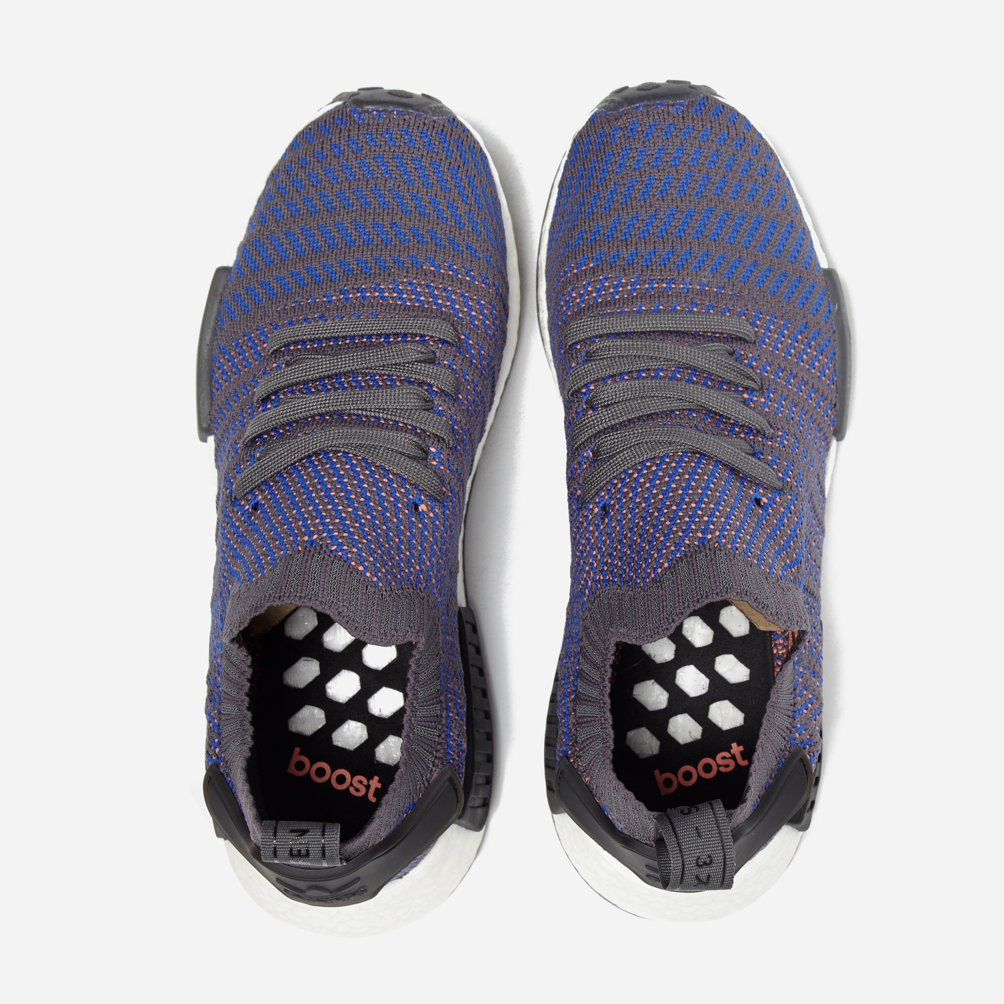 97c7f456d5ec1 8089a c2628  wholesale lyst adidas originals nmd r1 stlt pk in blue for men  faab7 da52a