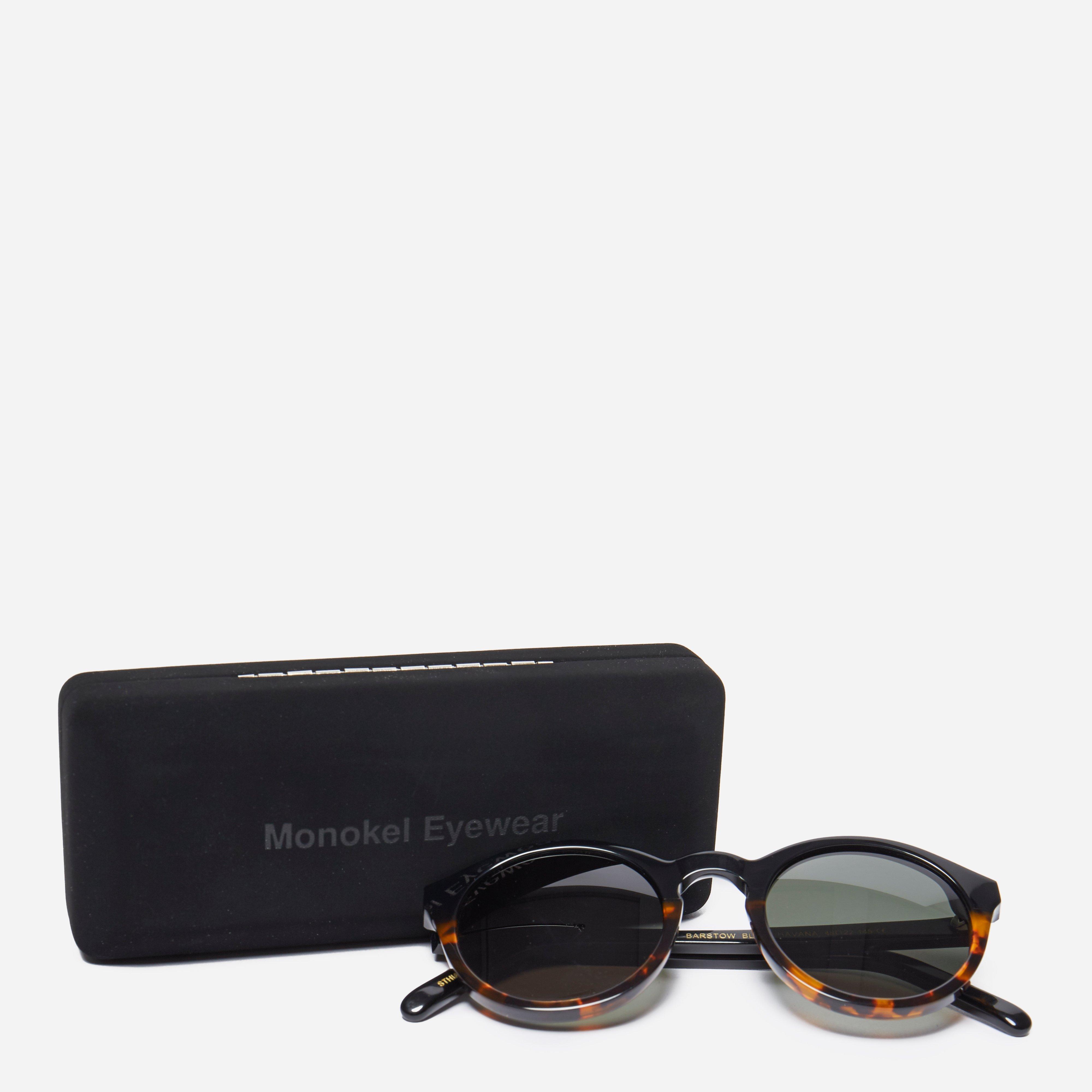 d27b45ce7f Monokel Eyewear - Barstow Sunglasses - Havana Solid Green Lens for Men -  Lyst. View fullscreen
