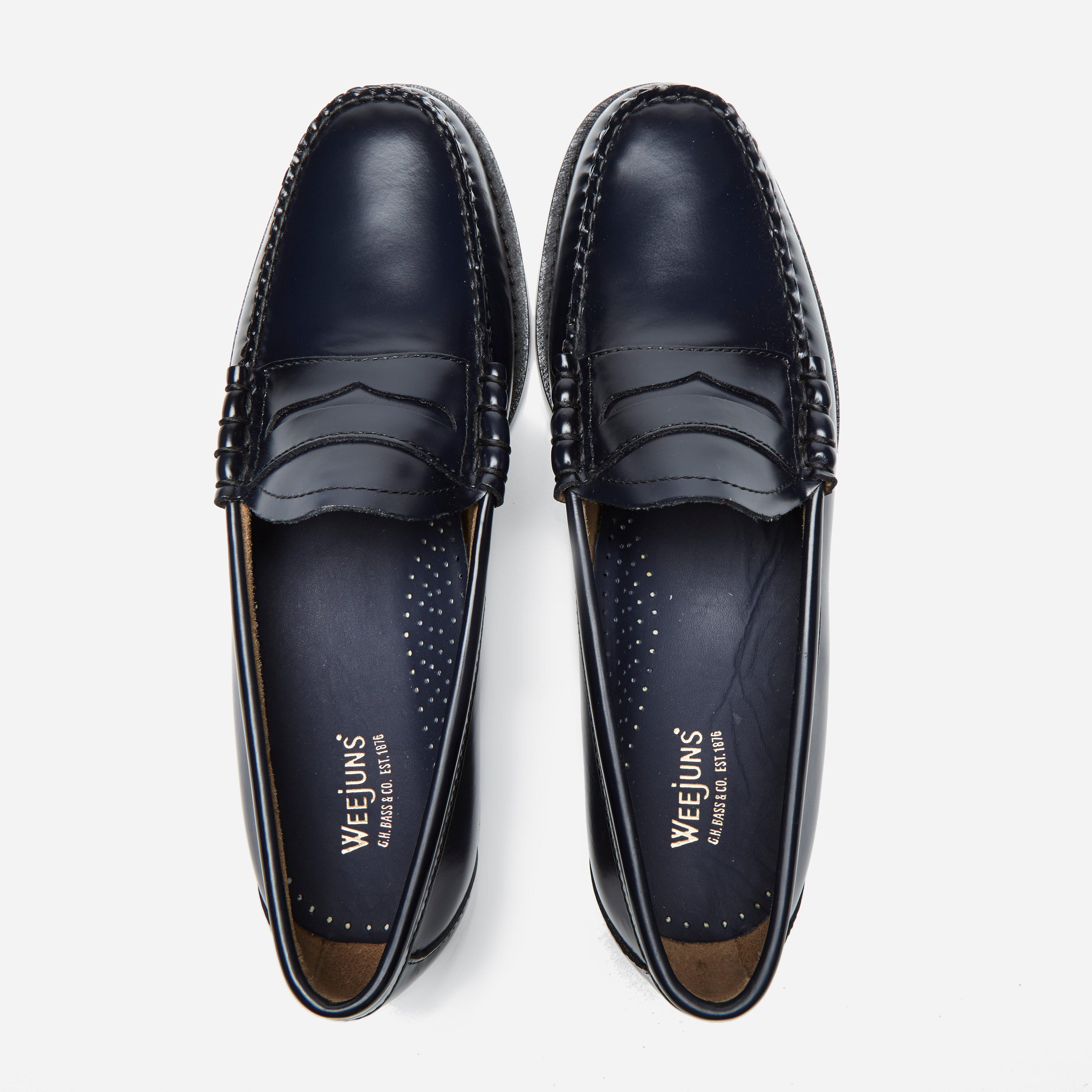 Lyst G Men Loafer Penny Bass Larson Weejun Blue bass In h For Y67ygbfv